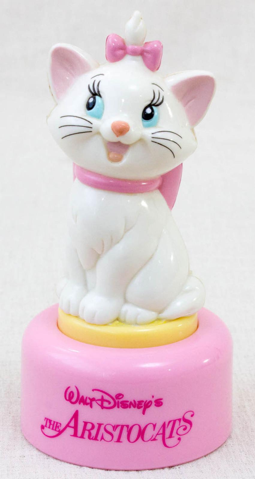 Disney Aristocats Marie Mascot Mini Figure Touch Light Toy Box