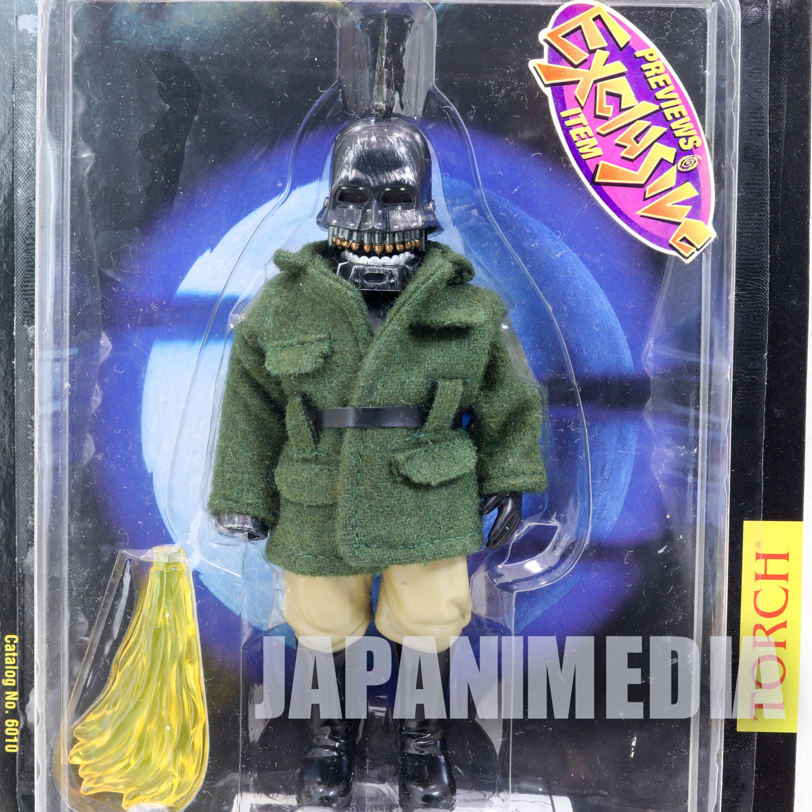 PUPPET MASTER Torch Green Figure Previews Exclusive Full Moon Toys