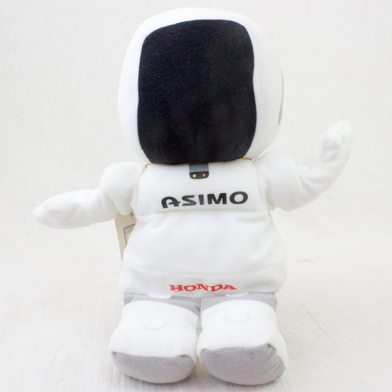 "HONDA Humanoid Robot Asimo Plush Doll Hand Puppet Figure 9"" JAPAN"