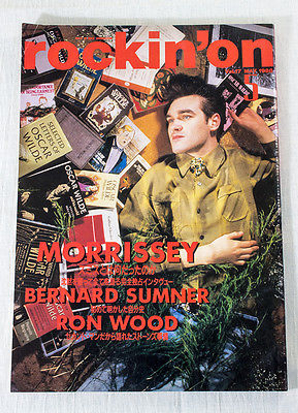 Rockin' On Japan Rock Music Magazine 05/1988 Morrissey/Ron Wood