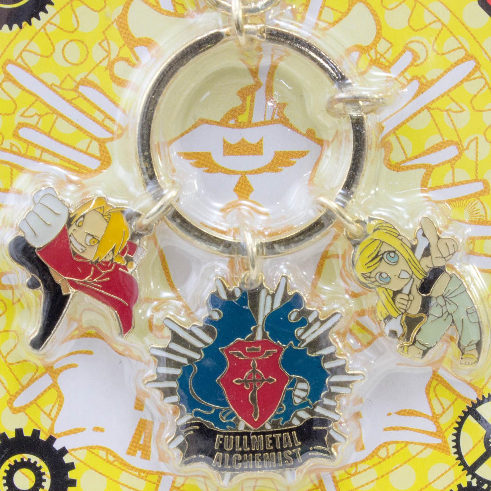 FullMetal Alchemist Edward Elric Winry Emblem Special Key Chain JAPAN ANIME