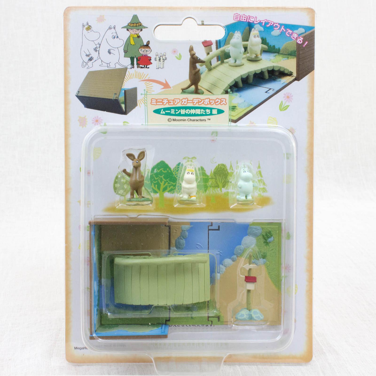 RARE! Moomin Characters Miniature Garden Snork Maiden & Sniff Megahouse JAPAN