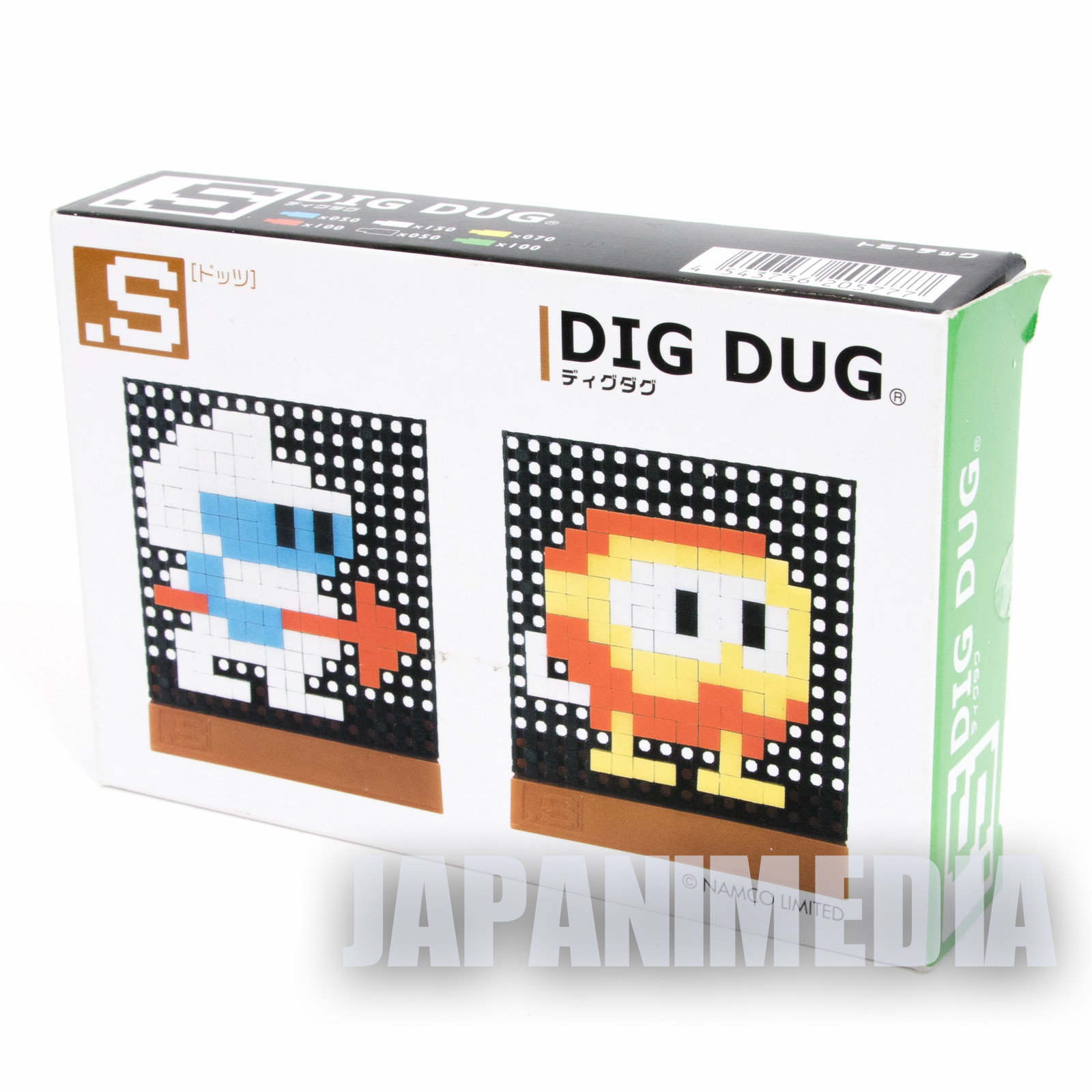 RARE! DIG DUG Dots .S Puzzle Pin Panel Toy Tomytec JAPAN FAMICOM NES NAMCO