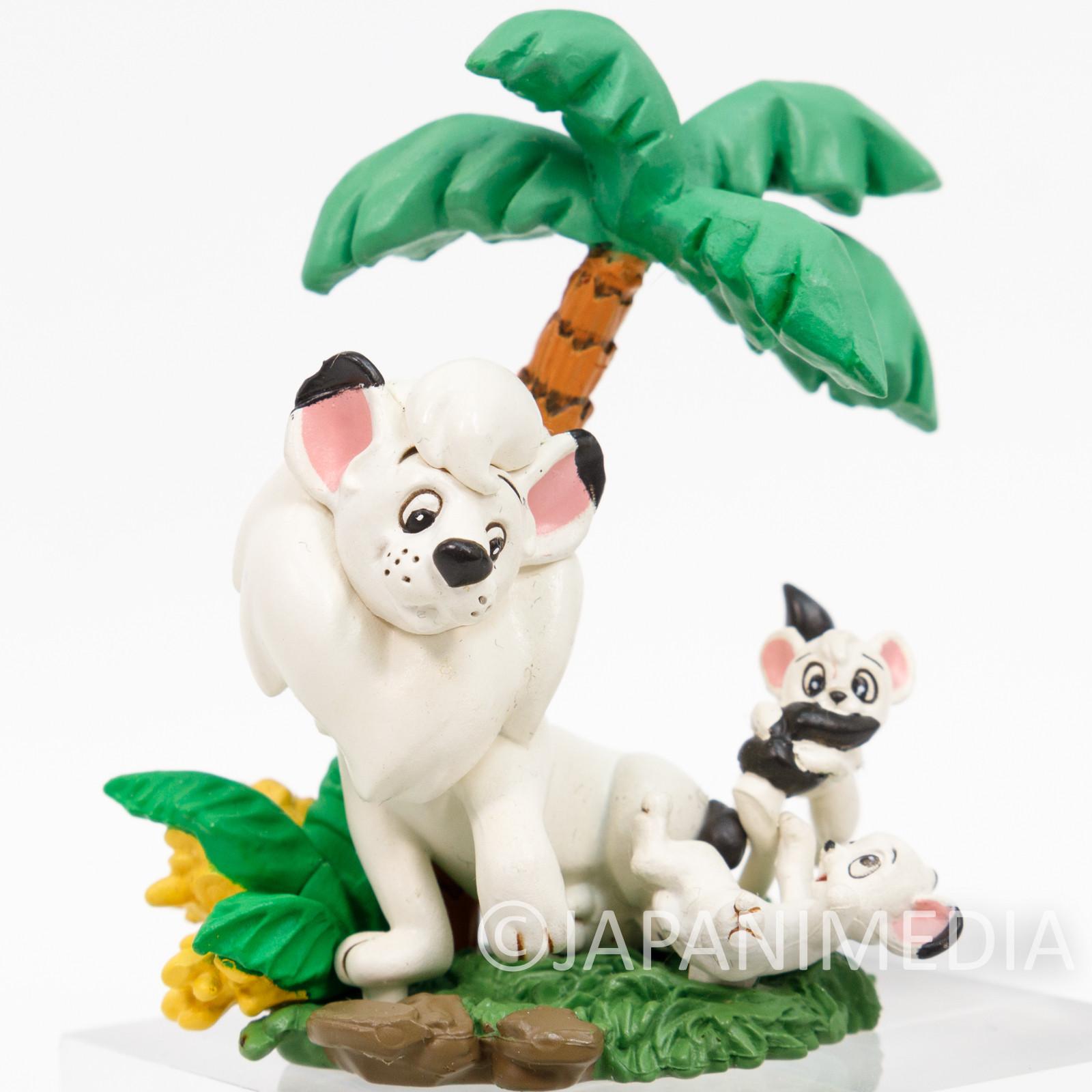 Jungle Emperor LEO Tezuka Osamu Mini Vignette Diorama Figure JAPAN ANIME MANGA