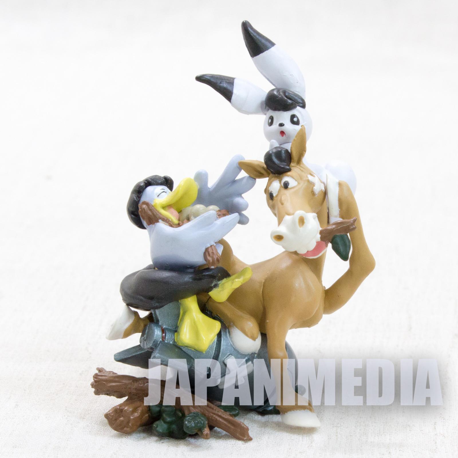 Wonder Three W3 Tezuka Osamu Mini Vignette Diorama Figure JAPAN ANIME MANGA