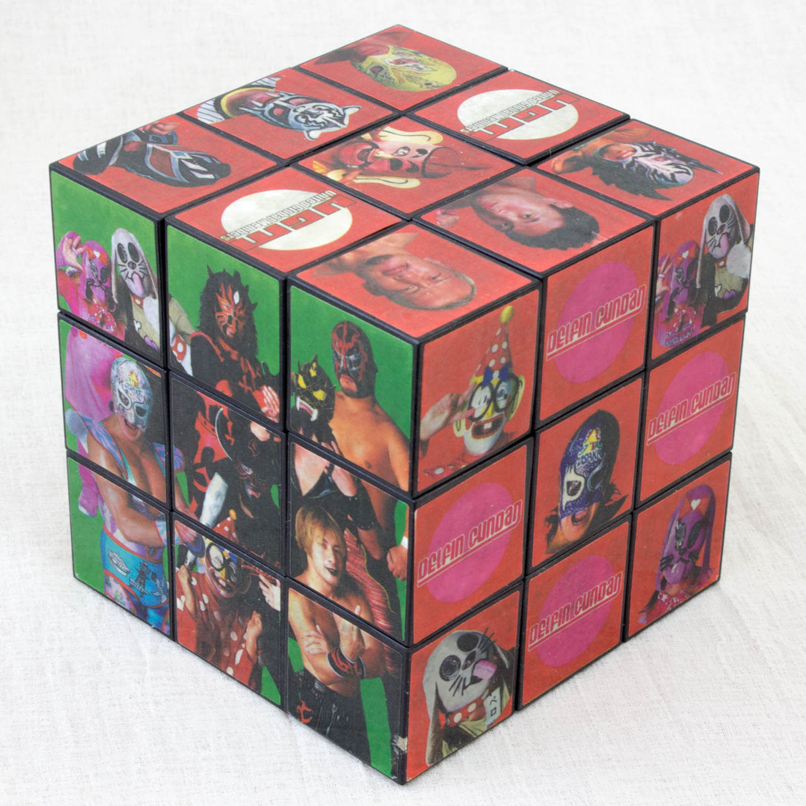 The Osaka Pro-Wrestling Six-sided Rubik's Cube JAPAN