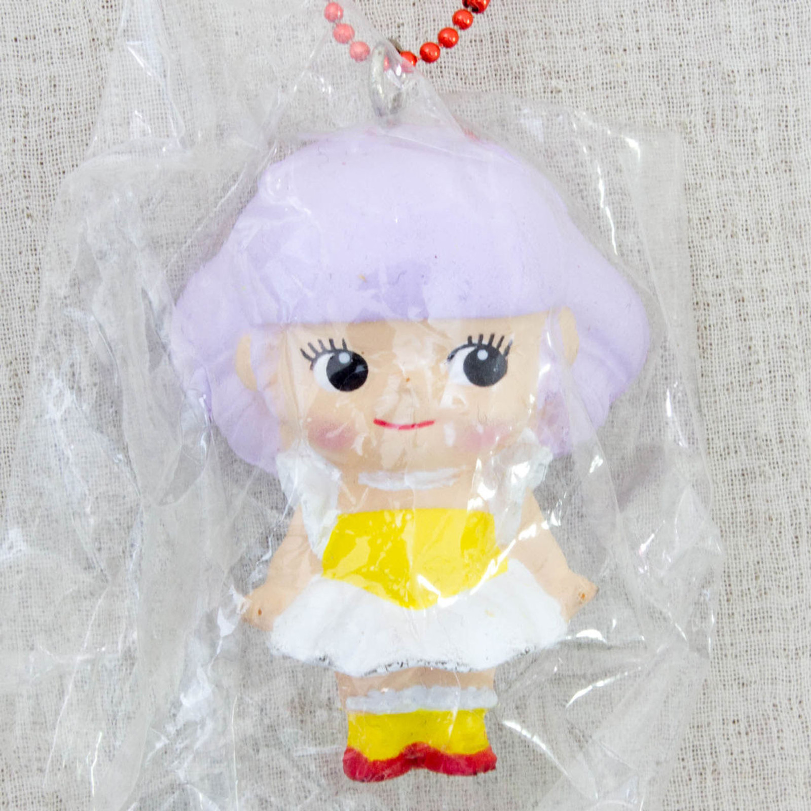 Magic Angel Creamy Mami Squeeze Figure Rose O'neill Kewpie Kewsion Keychain