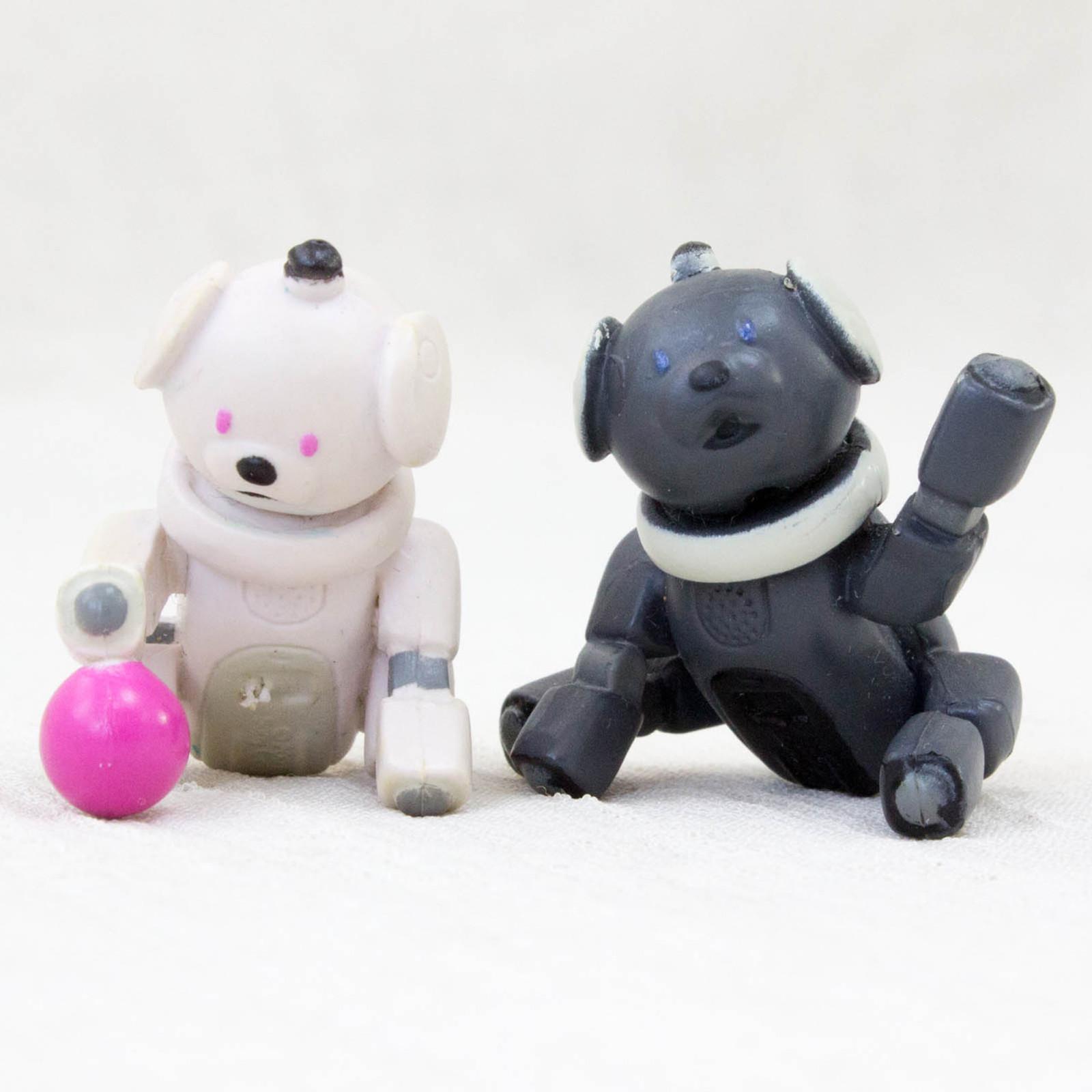 RARE!! AIBO ERS-311 LATTE 312 MACARON Petit Figure Mascot JAPAN SONY