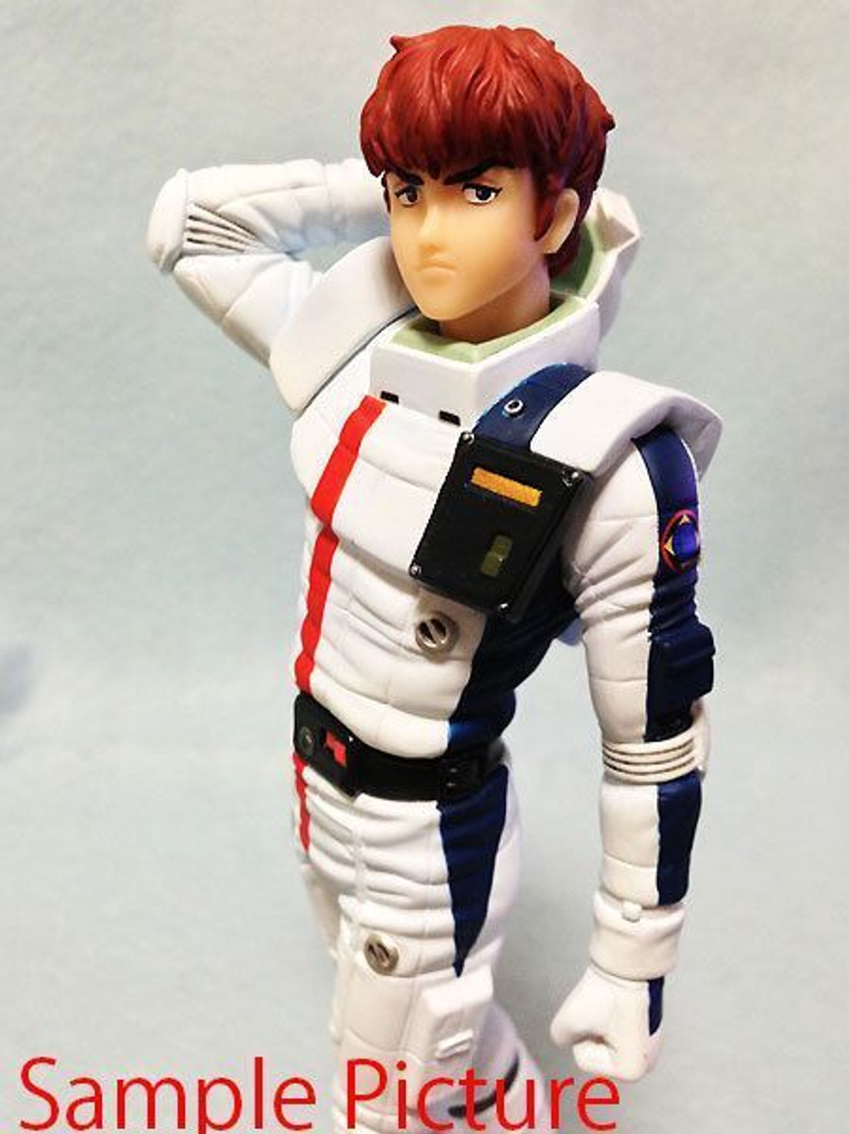 Gundam History U.C.0093 Pilot Amuro Ray Figure Banpresto JAPAN ANIME MANGA
