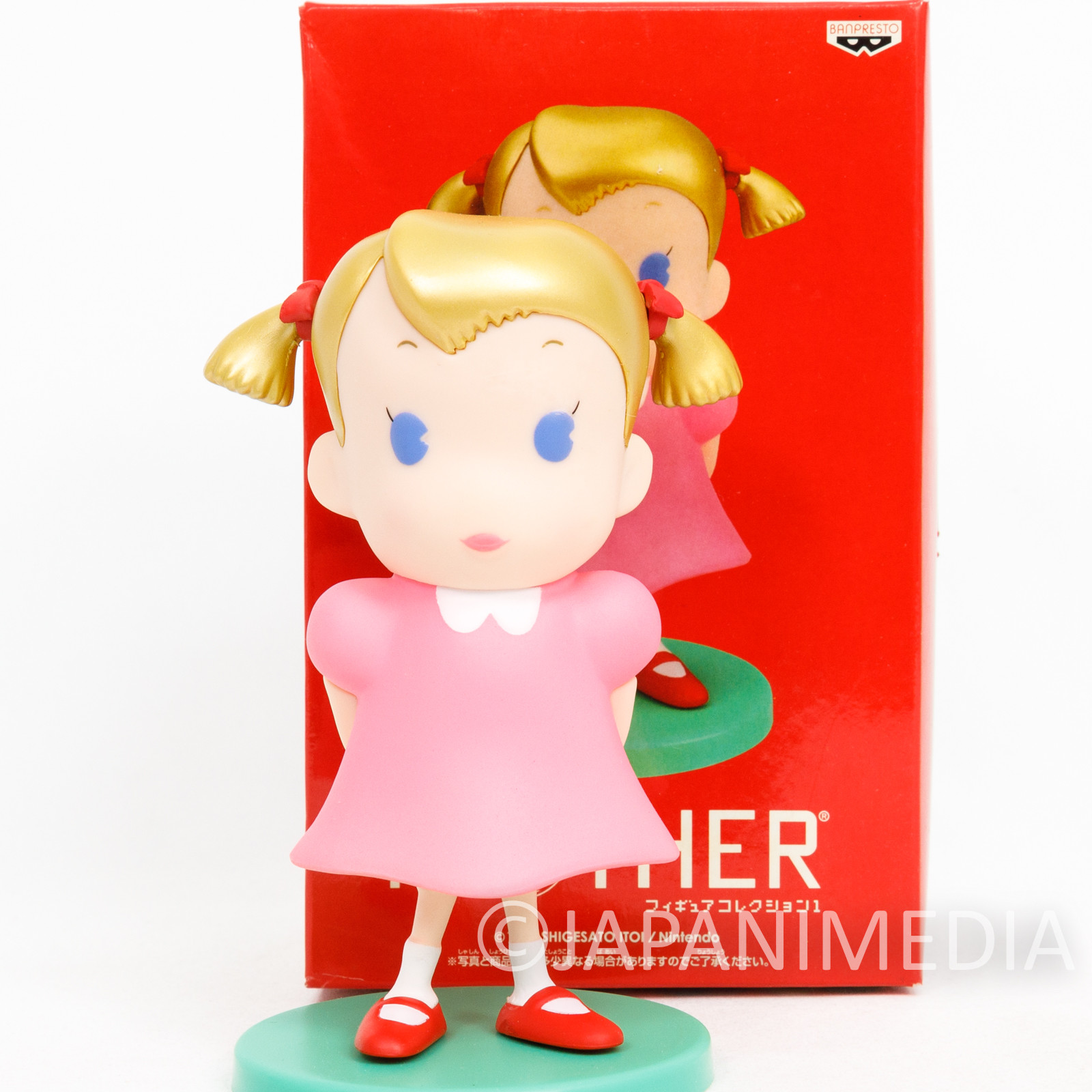 "MOTHER Anna Ana 5"" Figure Banpresto JAPAN NINTENDO FAMICOM NES GAME"