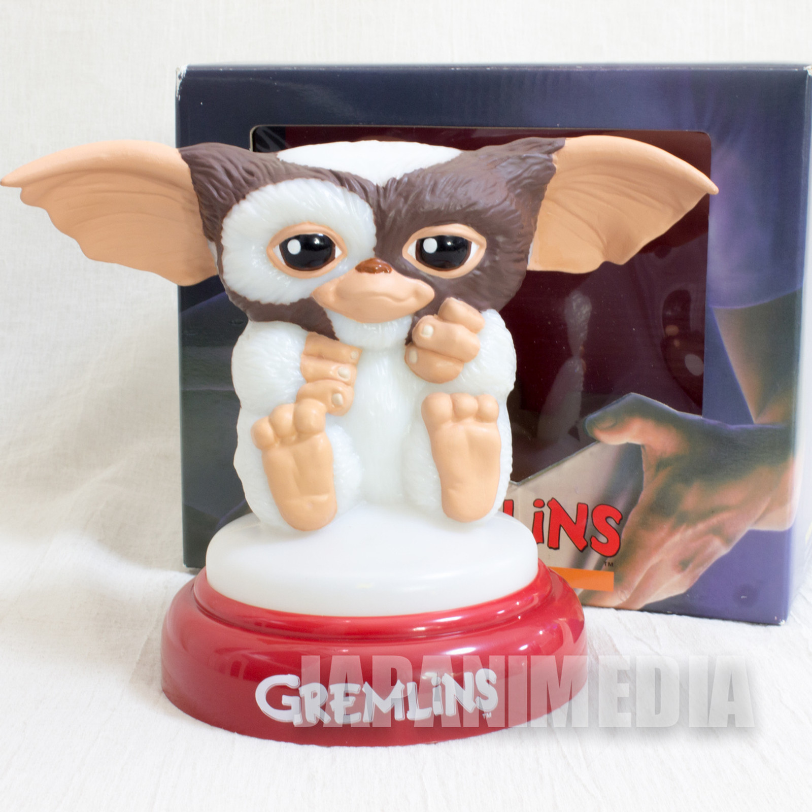 RARE! Gremlins 2 Gizmo Mogwai Figure Touch Light Jun Planning JAPAN