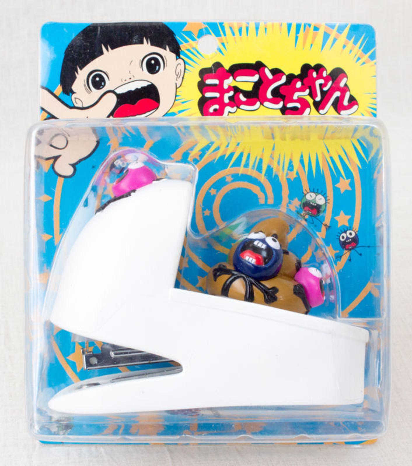 Makoto-Chan Toilet bowl type Stapler Umezu Kazuo Guwashi JAPAN ANIME MANGA