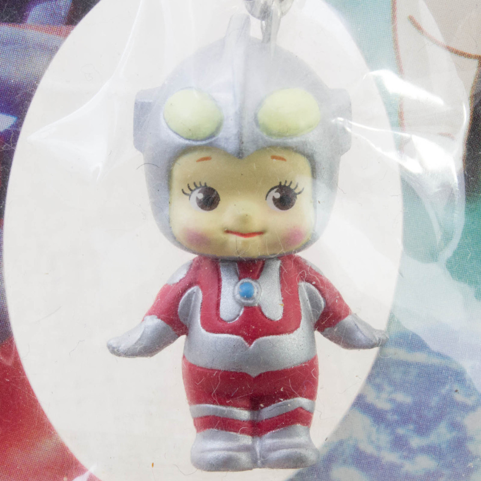 Ultraman Rose O'neill Kewpie Kewsion Figure Strap JAPAN ANIME