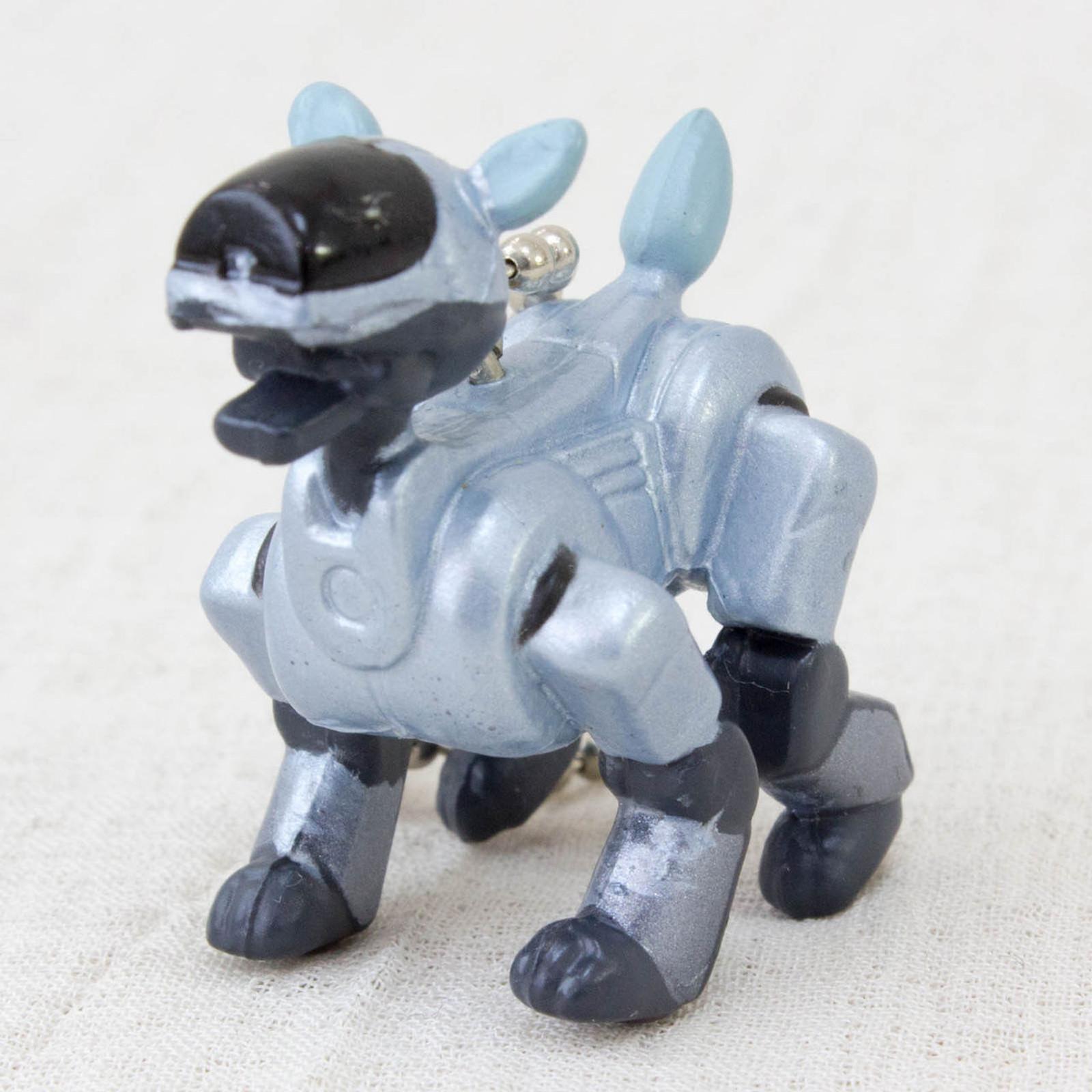 RARE!! AIBO ERS-210 Petit Figure Keychain JAPAN SONY