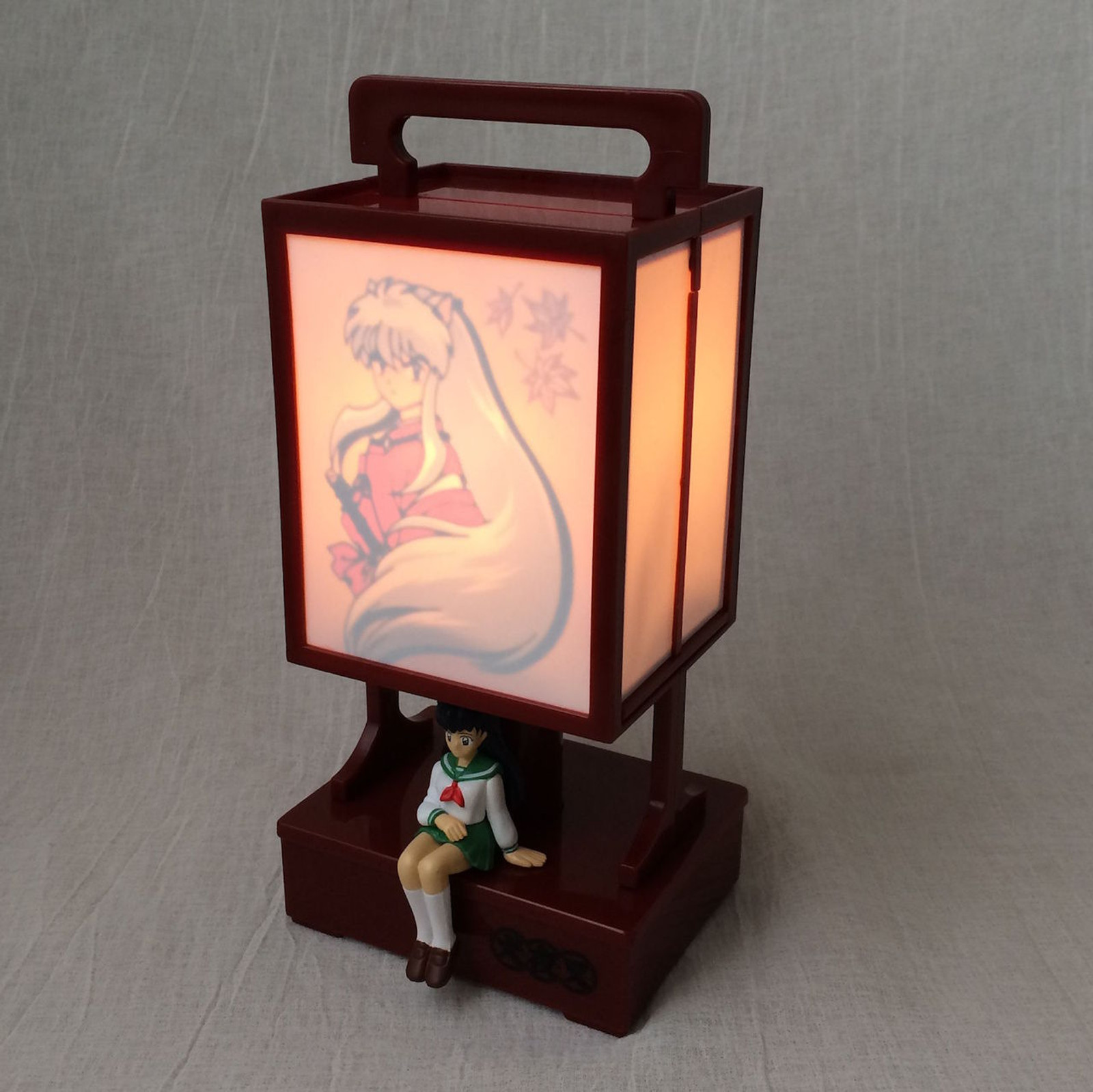 InuYasha Lantern type Room Light Kagome Figure Banpresto JAPAN ANIME MANGA