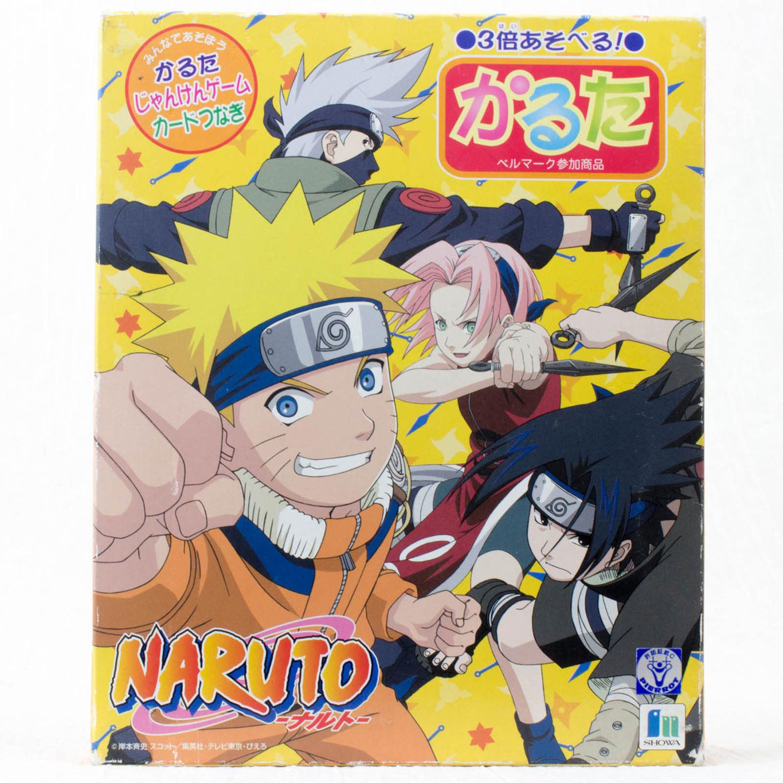 NARUTO KARUTA Japanese Card Game JAPAN ANIME MANGA