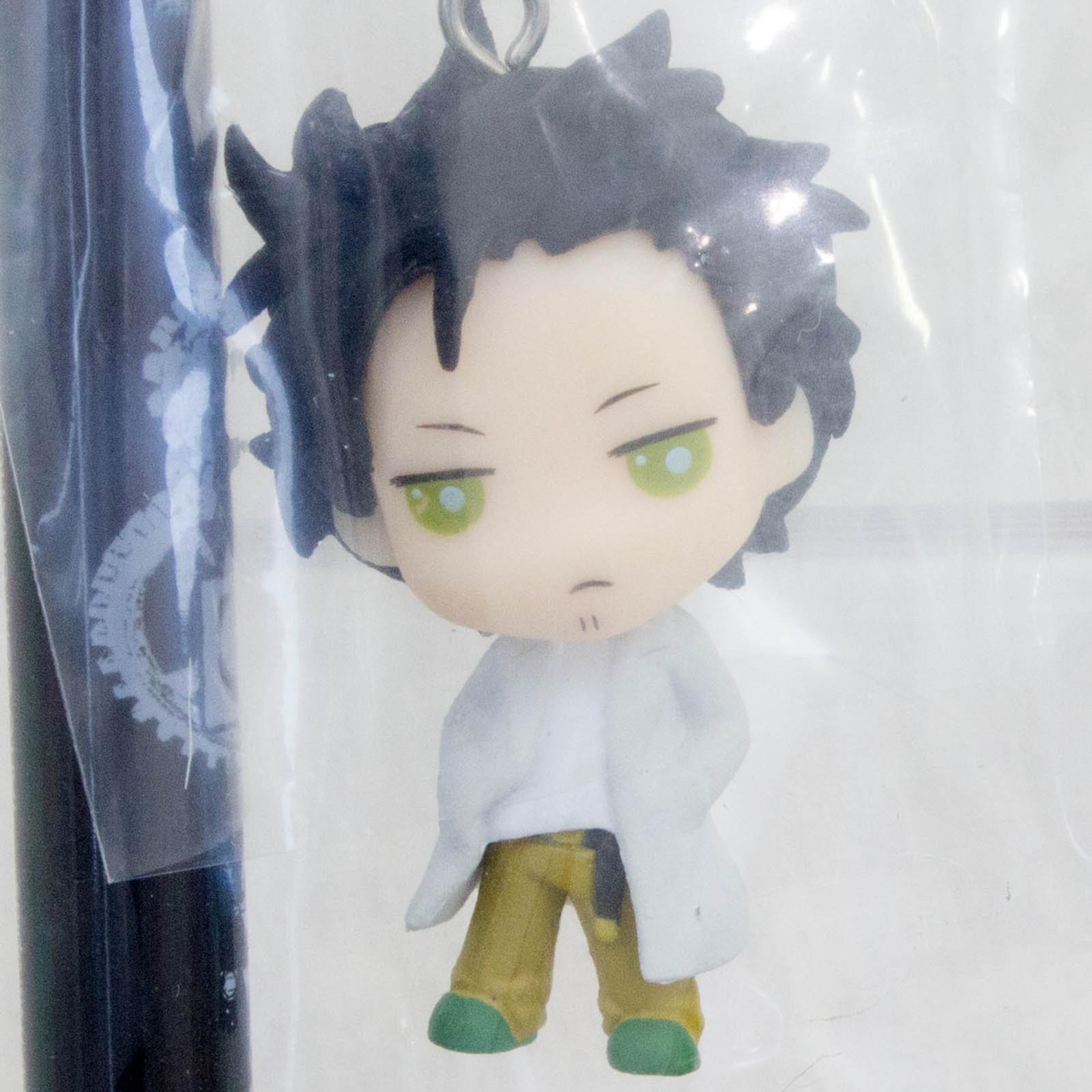 Steins ; Gate Rintaro Okabe Mini Figure Ball Point Pen JAPAN ANIME MANGA
