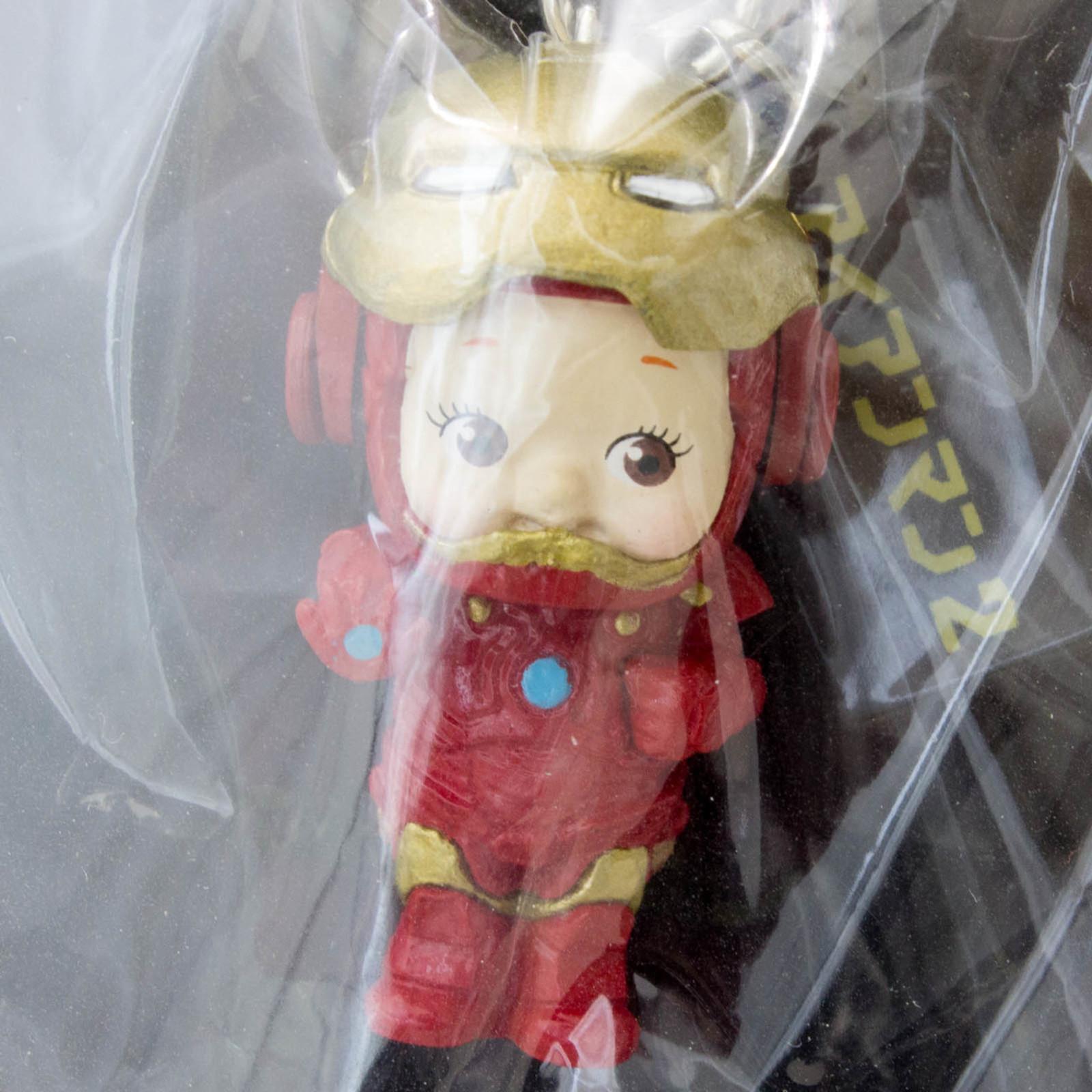 RARE! Iron Man 2 Rose O'neill Kewpie Kewsion Figure Strap Marvel