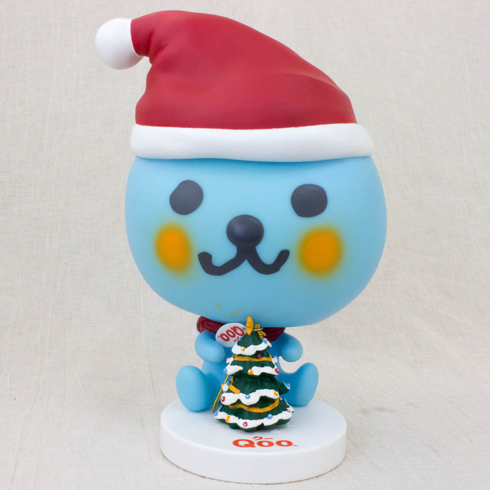 QOO Santa with Christmas Tree Figure Coca-Cola Yamazaki Japan Limited Product