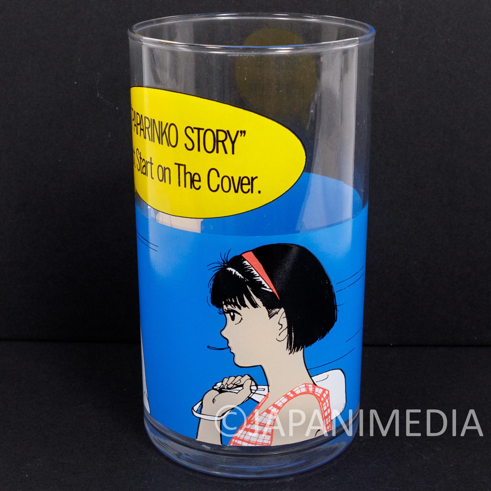 Retro RARE! PAPARINKO Glass Hisashi Eguchi Mister Donut JAPAN ANIME MANGA 2