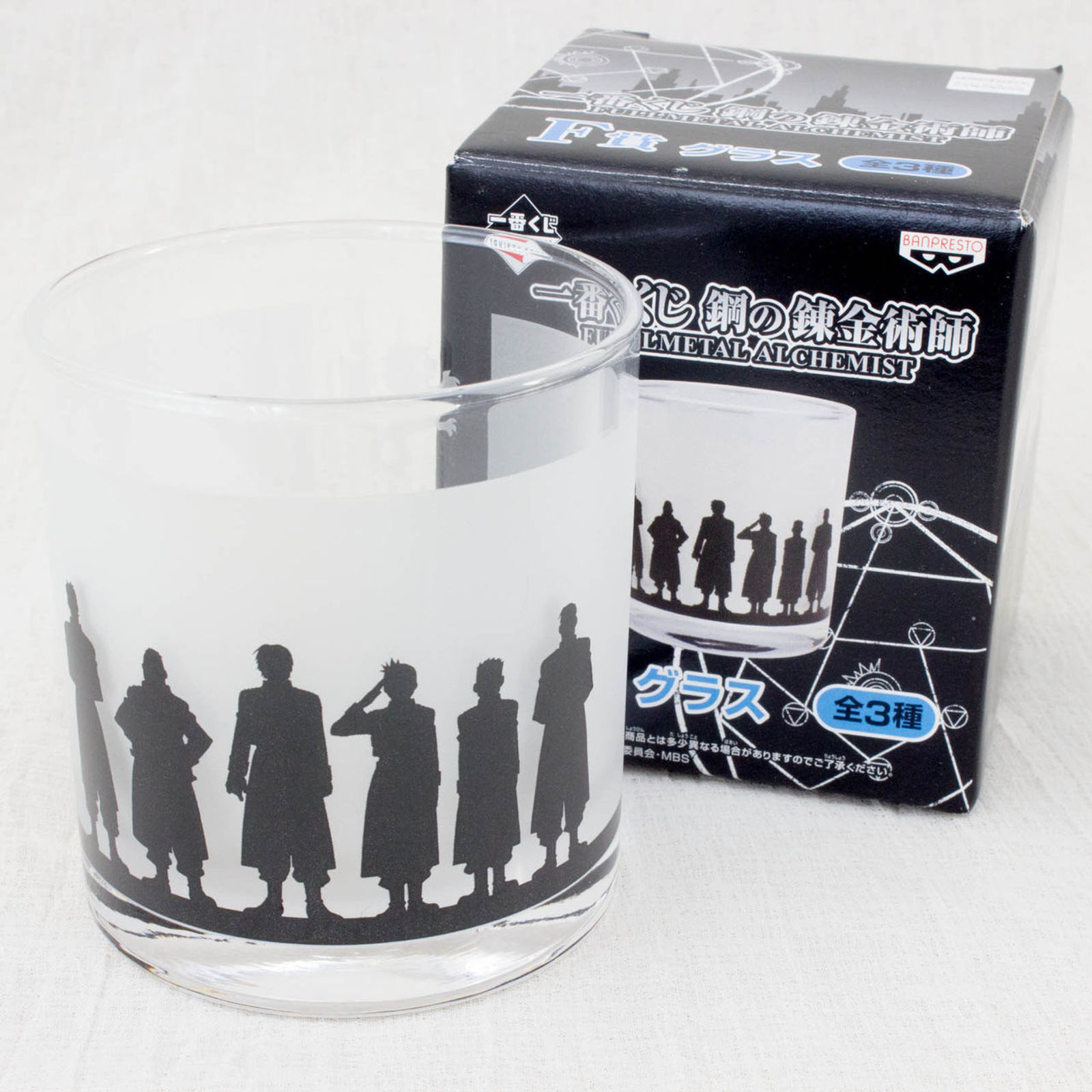 FullMetal Alchemist Glass Armed Forces of the Amestris Roy JAPAN ANIME MANGA