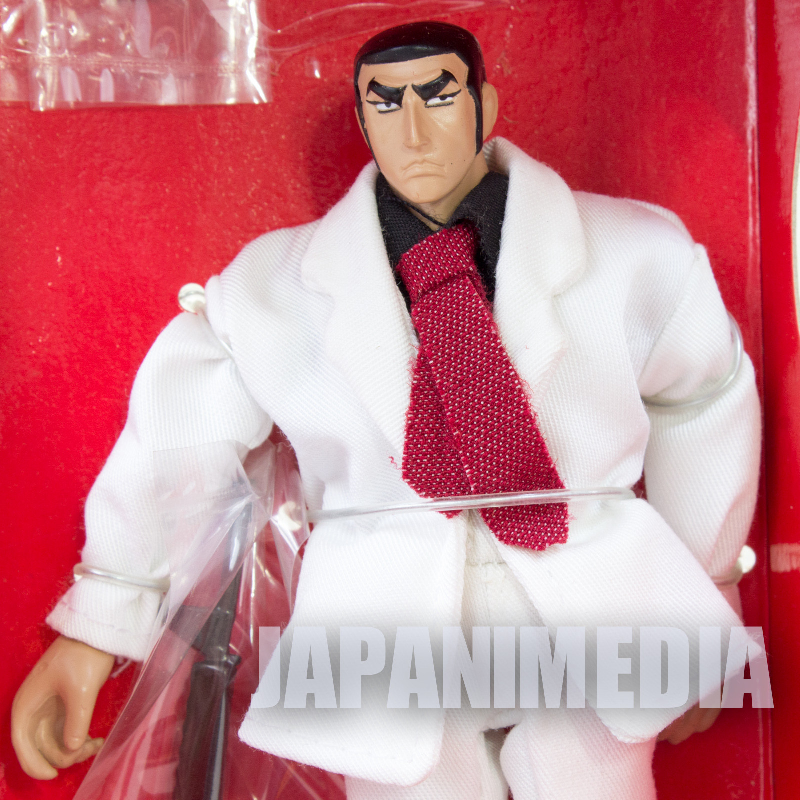 RARE! Golgo 13 Sniper Costume Figure Duke Togo White Suit Banpresto JAPAN ANIME