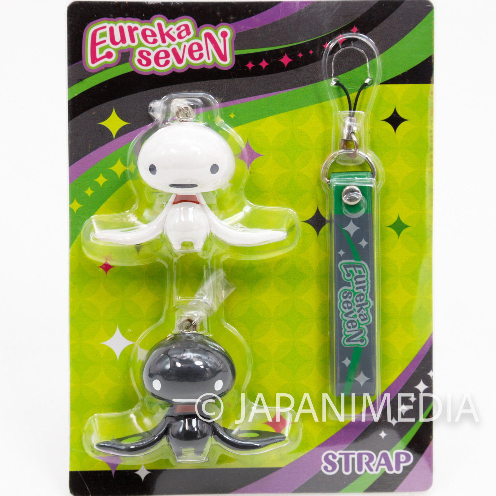 RARE! Eureka Seven Psalms of Planets Nirvash & The End Figure Strap JAPAN ANIME