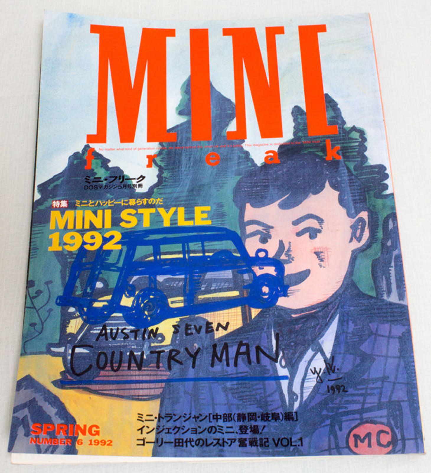 Vol.6 1992 Mini Freak Japanese MINI COOPER Magazine JAPAN CAR AUTO