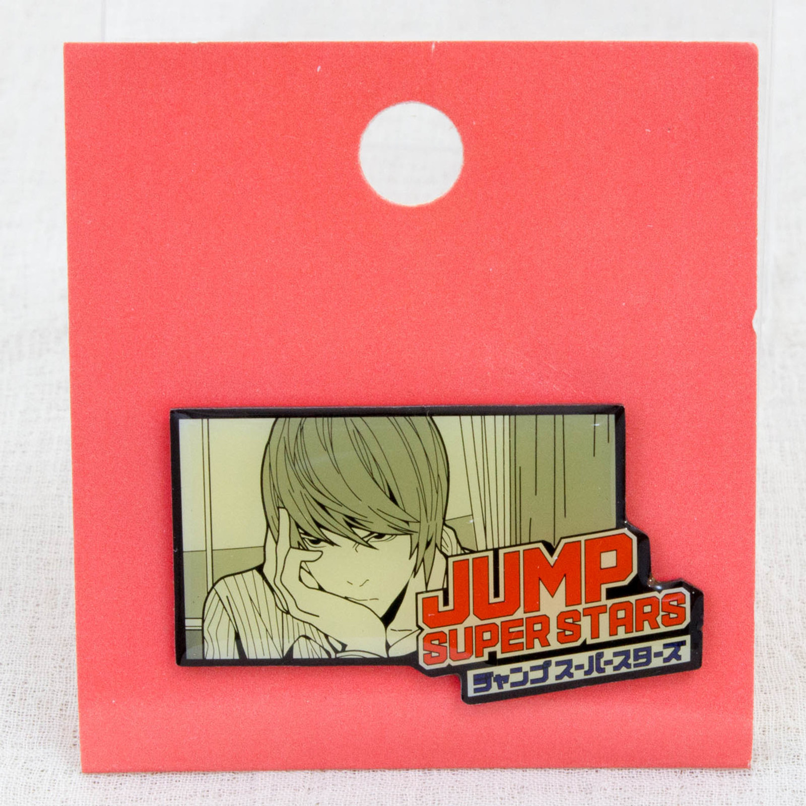 Shonen Jump Super Stars Pins Death Note Light Yagami JAPAN ANIME MANGA