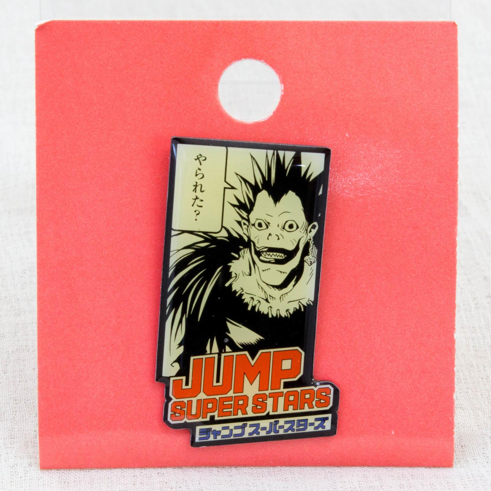 Shonen Jump Super Stars Pins Death Note Ryuk JAPAN ANIME MANGA