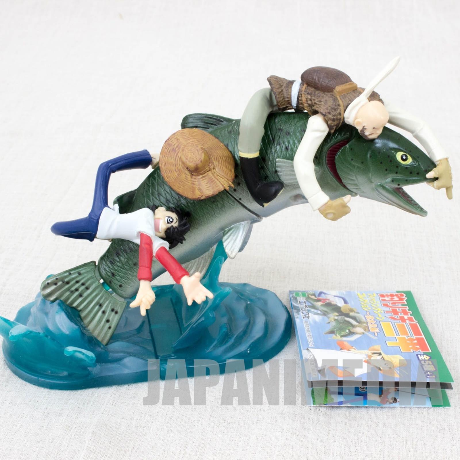 Fishing Crazy Tsurikichi Sanpei Diorama Vignette Figure JAPAN ANIME MANGA