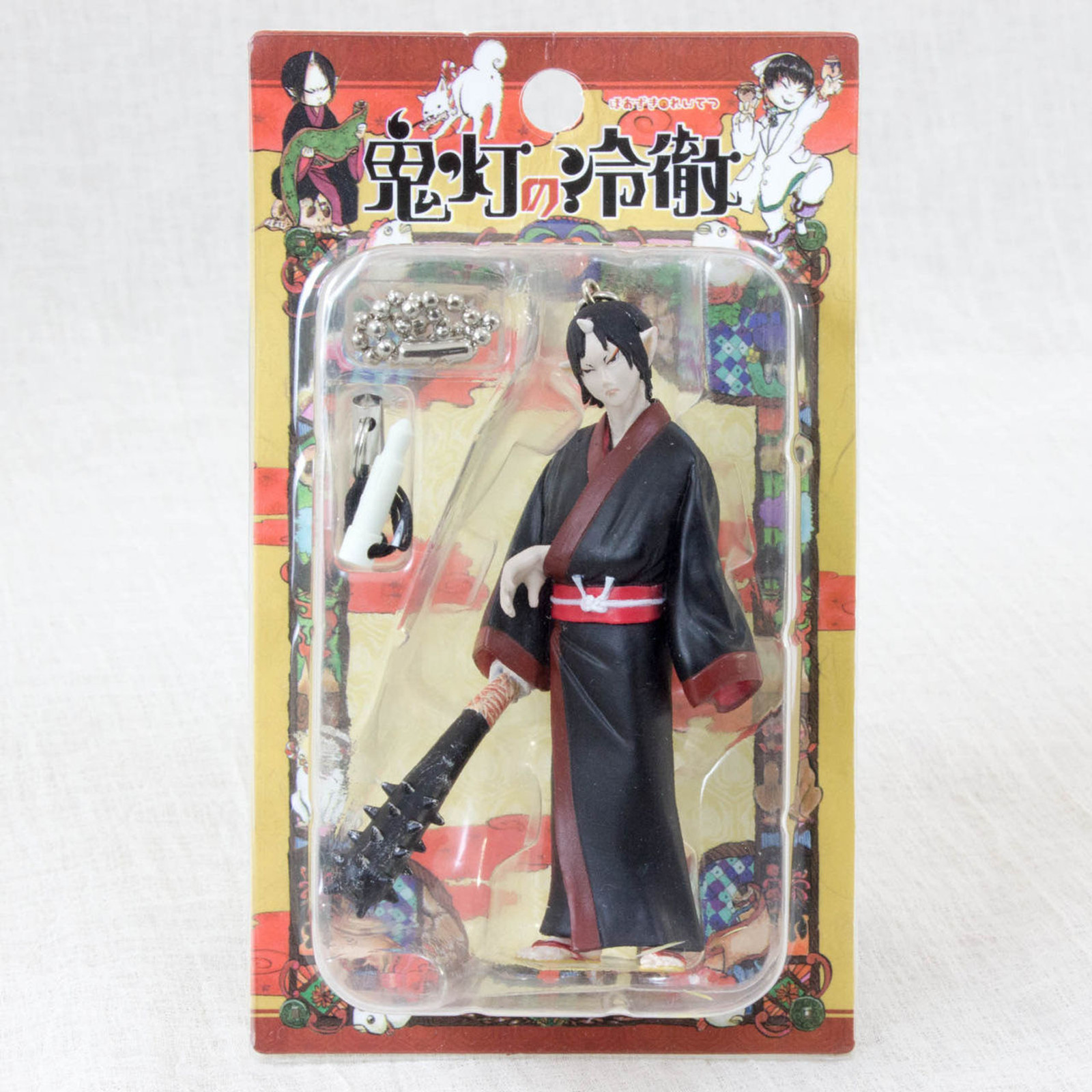 "Hozuki no Reitetsu 3"" Figure Ballchain Strap Aile Planning JAPAN ANIME MANGA"