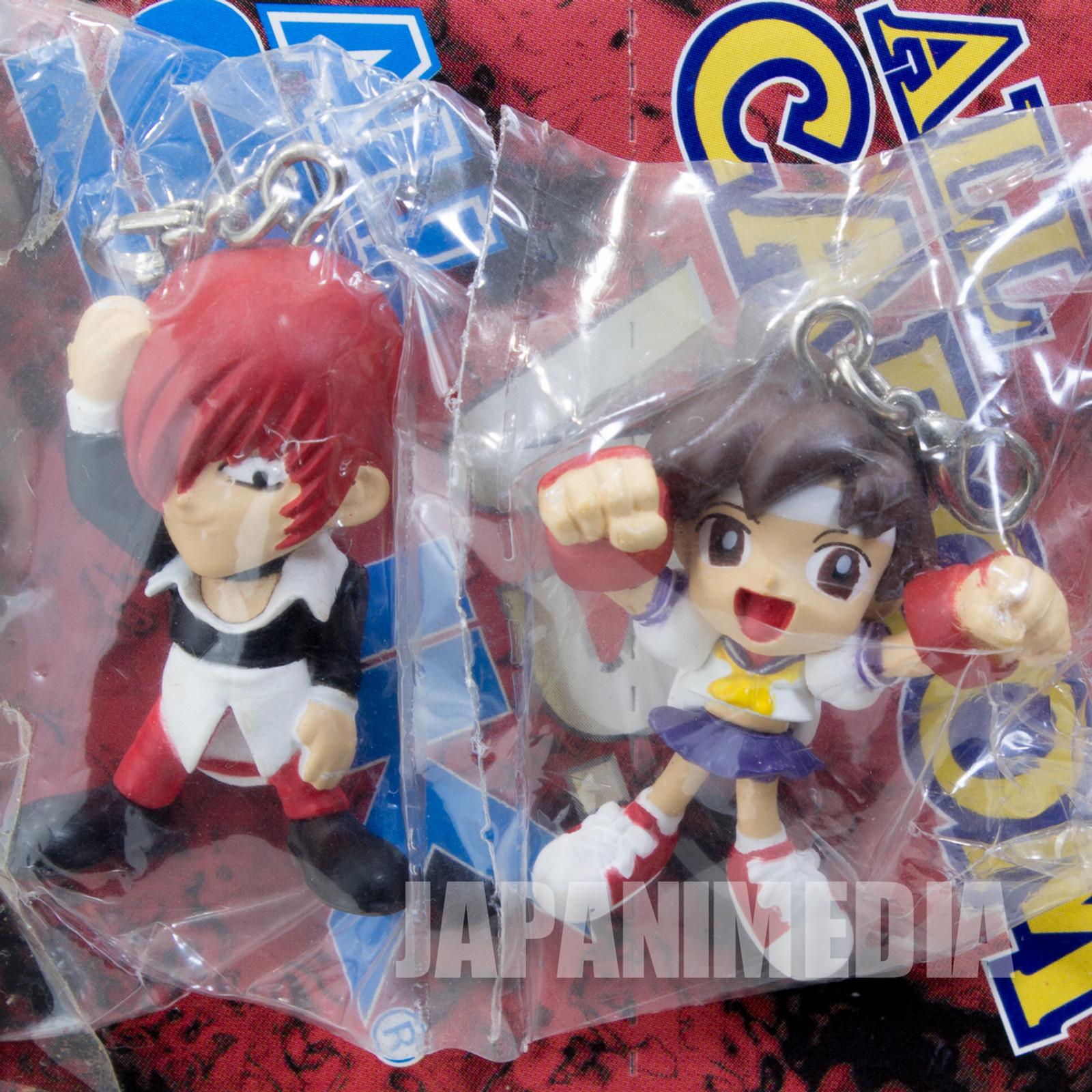 Iori Yagami & Sakura SNK VS Capcom Figure Mascot King of Fighters Street JAPAN
