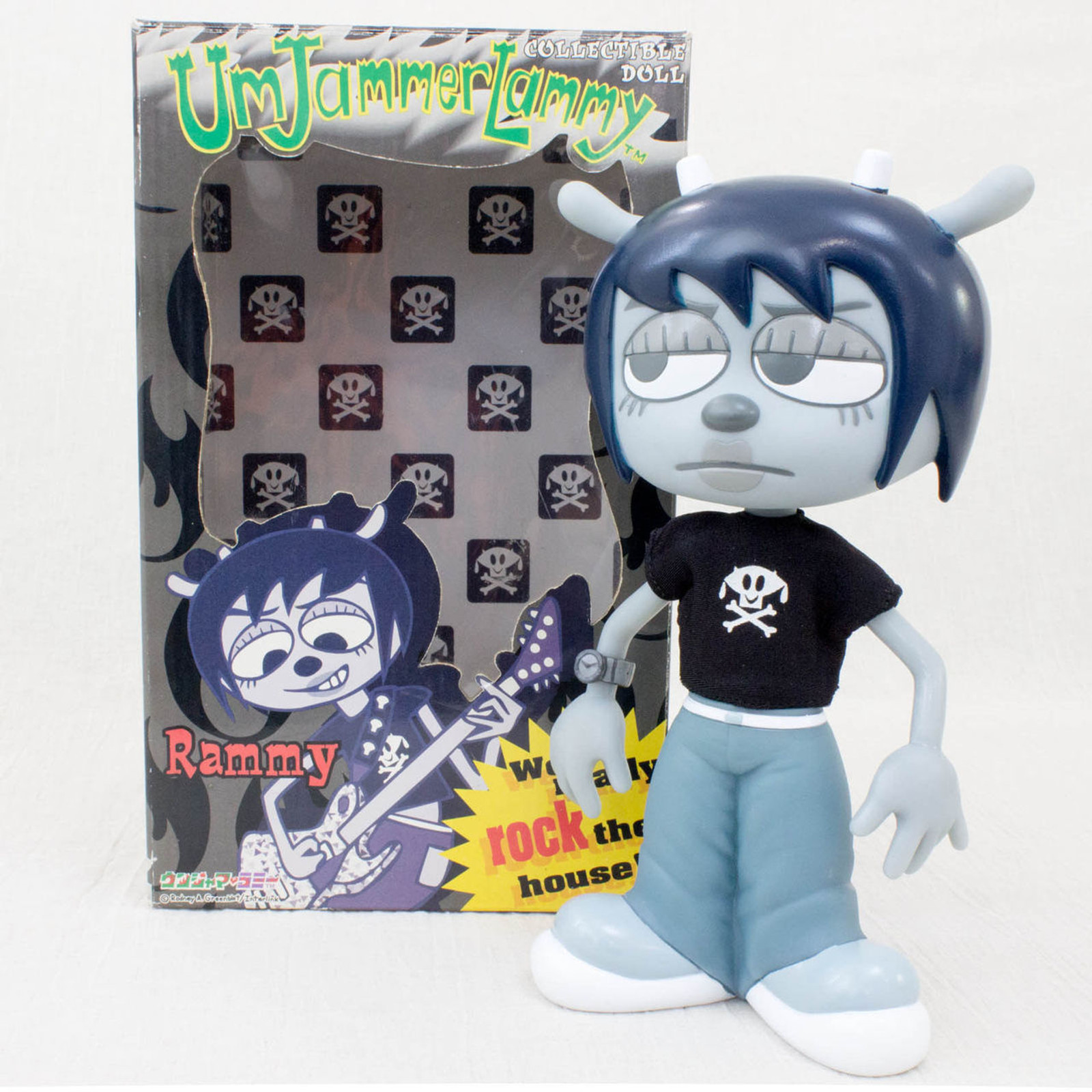UmJammer Lammy RAMMY Collectible Doll Figure Medicom JAPAN Parappa The Rapper