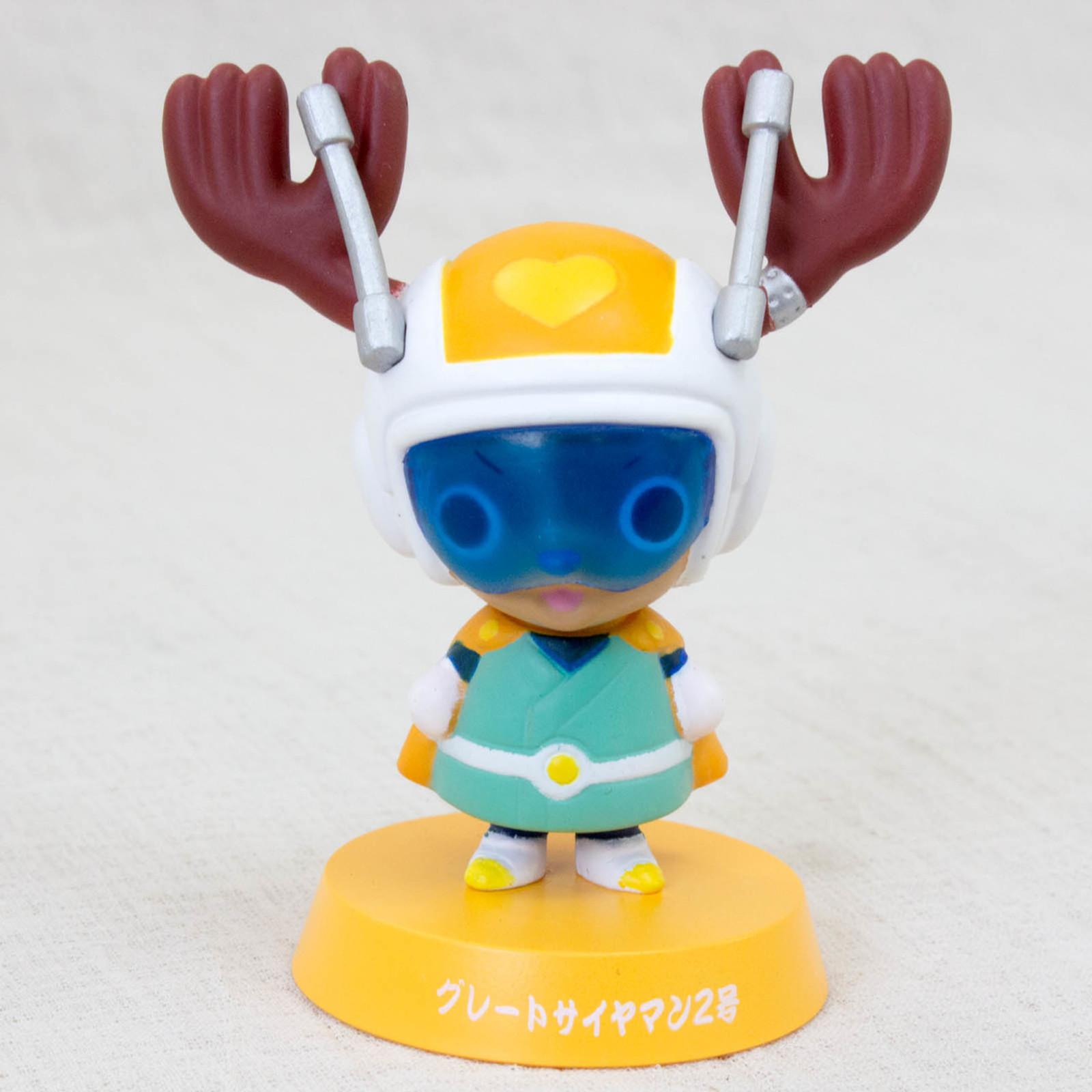 Dragon Ball Z x ONE PIECE Chopper Man x Great Saiyaman Bobble Head Figure JAPAN