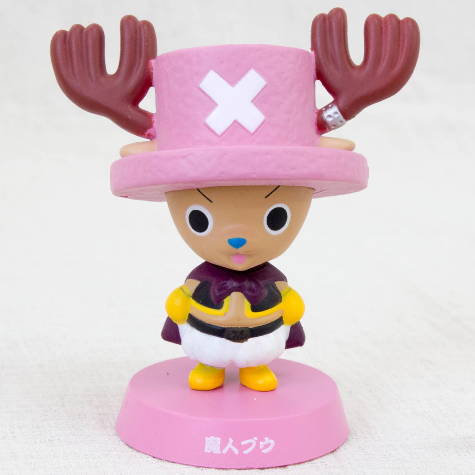 Dragon Ball Z x ONE PIECE Chopper Man x Majin Boo Bobble Head Figure JAPAN