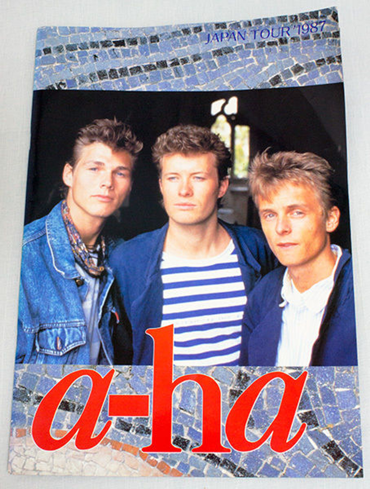 a-ha 1987 Japan Concert Tour Program Art Book