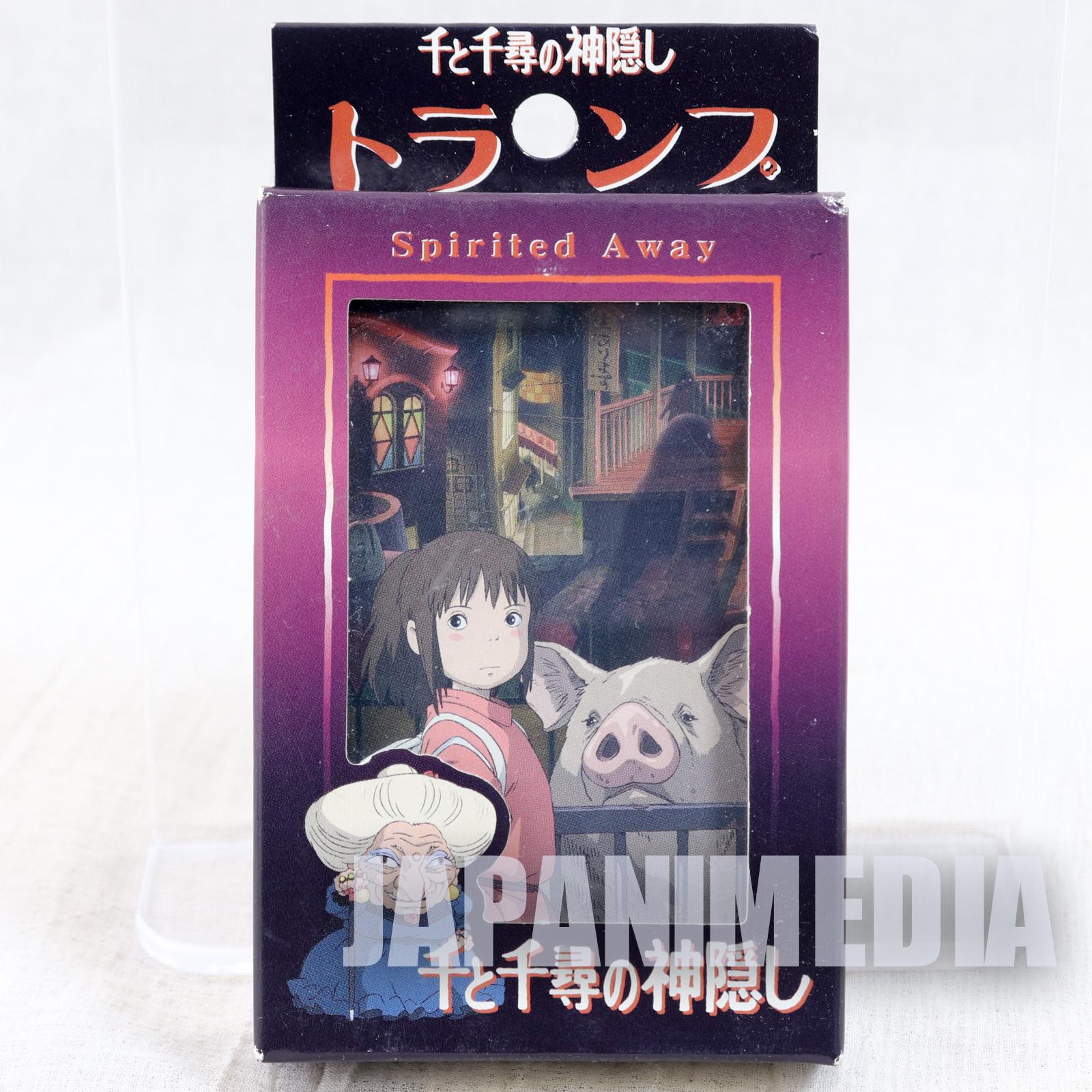 Spirited Away Trump Playing Cards Studio Ghibli JAPAN ANIME MANGA
