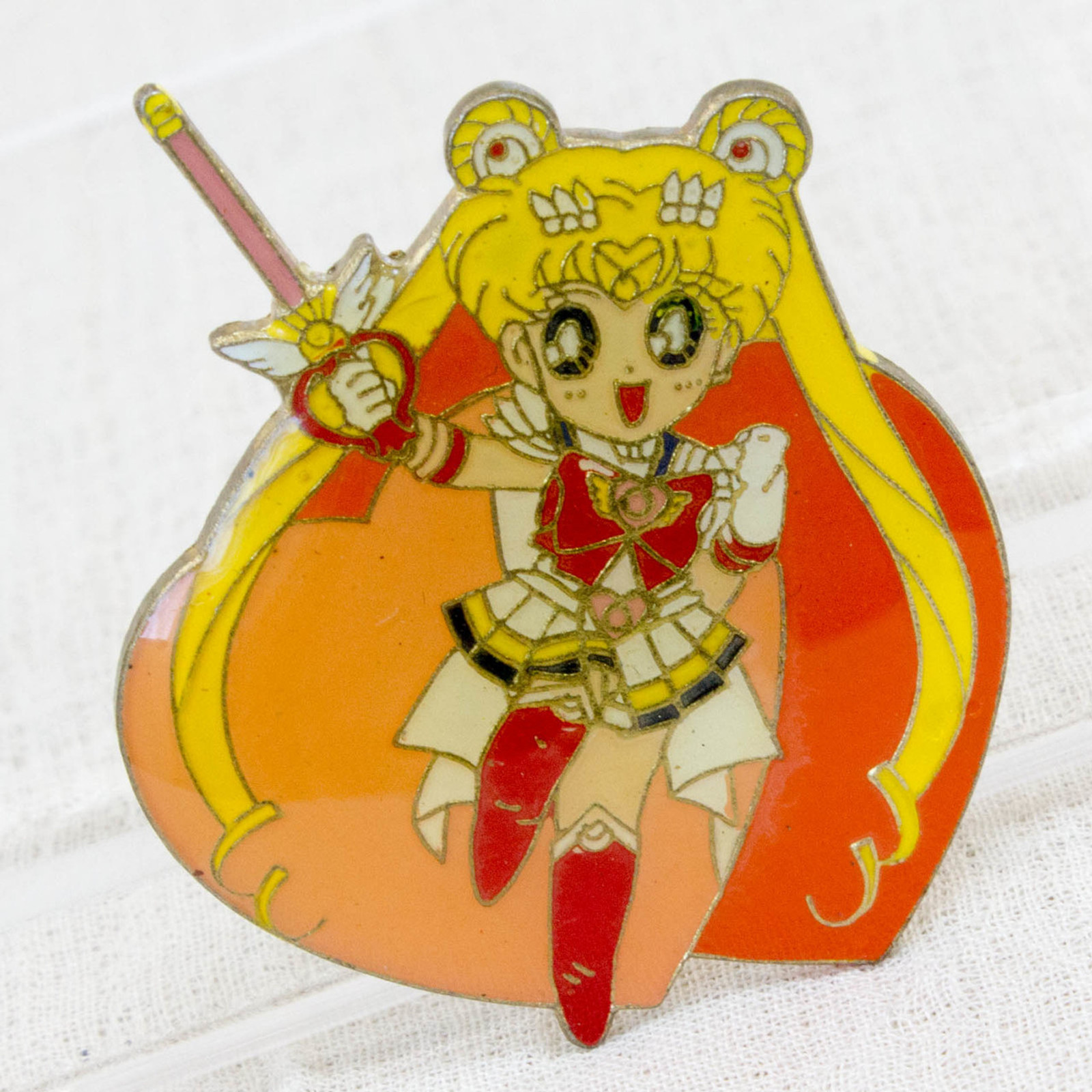Sailor Moon Sailor Moon (Usagi Tsukino) Metal Pins Badge JAPAN ANIME MANGA 4