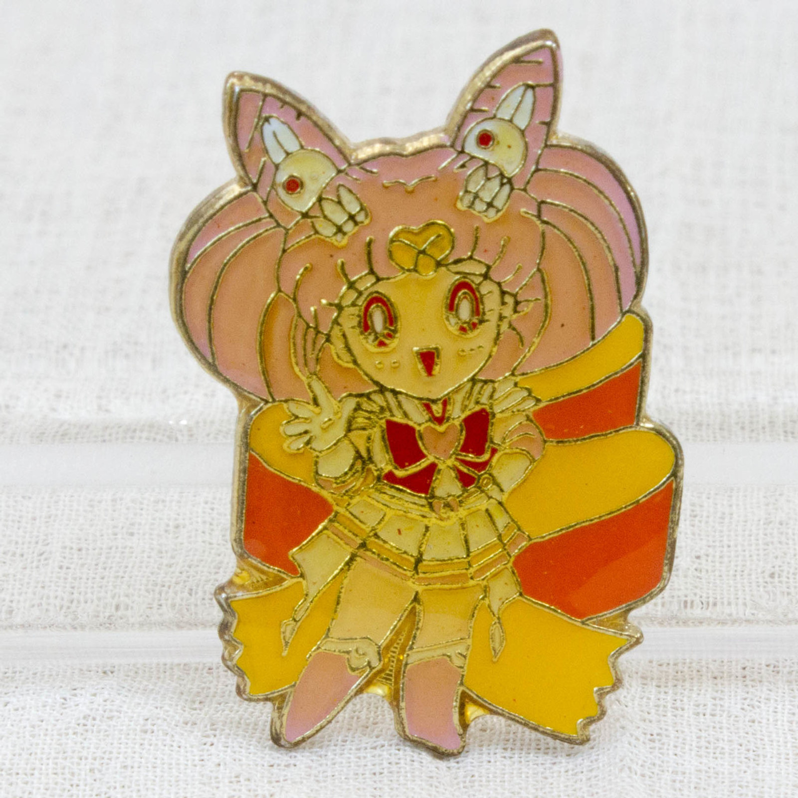 Sailor Moon Sailor Chibi Moon (Chibiusa) Metal Pins Badge JAPAN ANIME