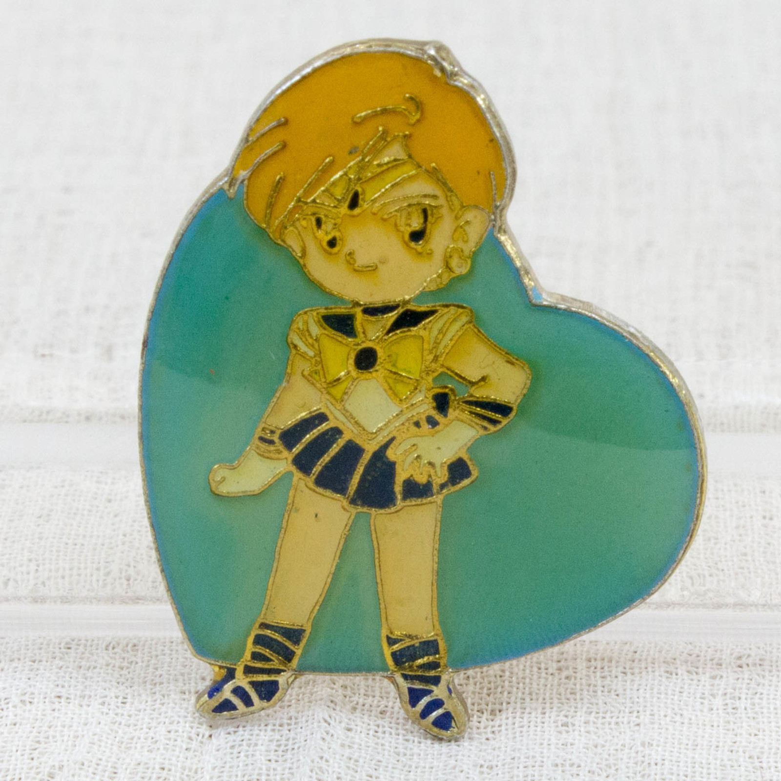 Sailor Moon Sailor Uranus (Haruka Tenoh) Metal Pins Badge JAPAN ANIME