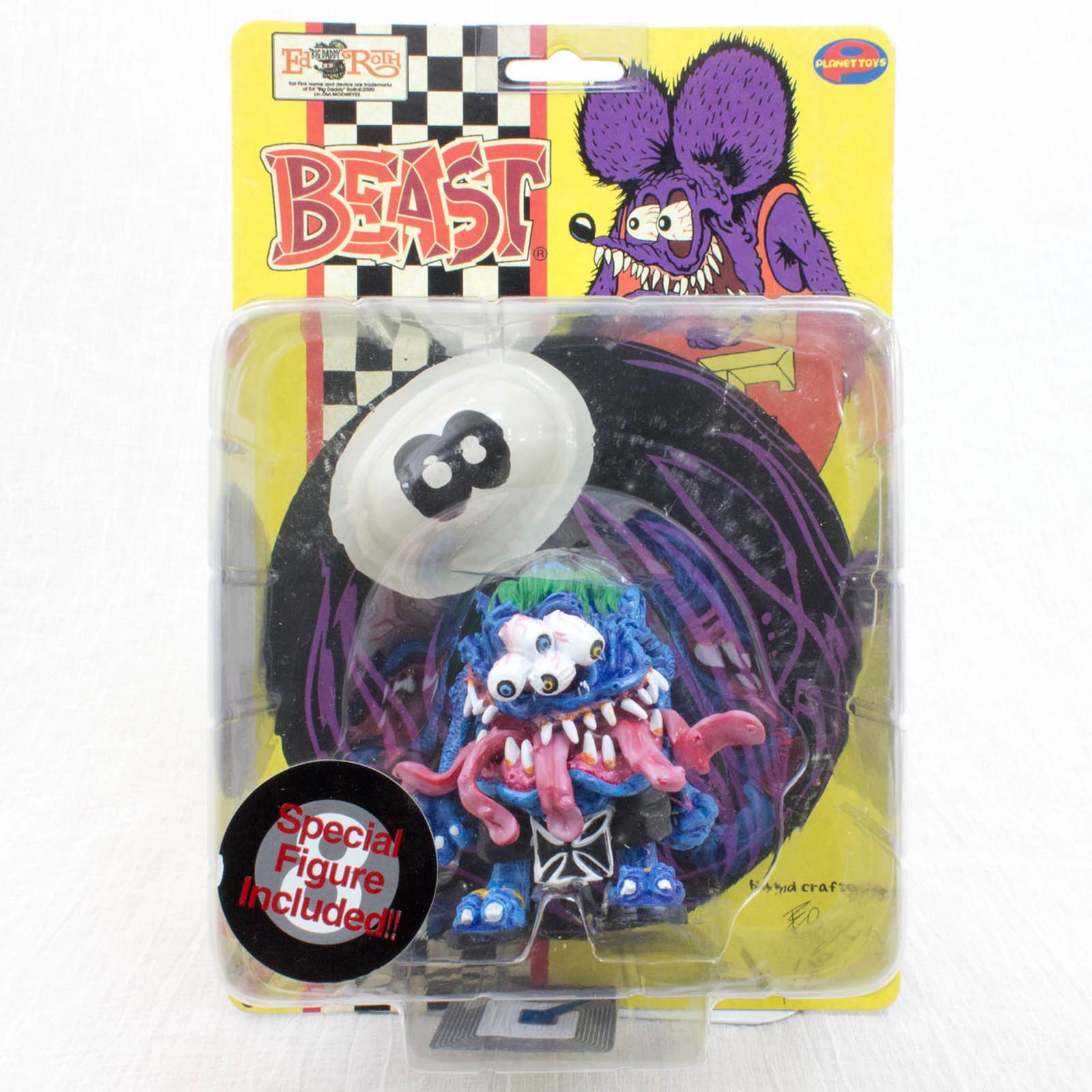 RAT FINK Action Figure Series BEAST Planet Toys Art Storm 1998 JAPAN