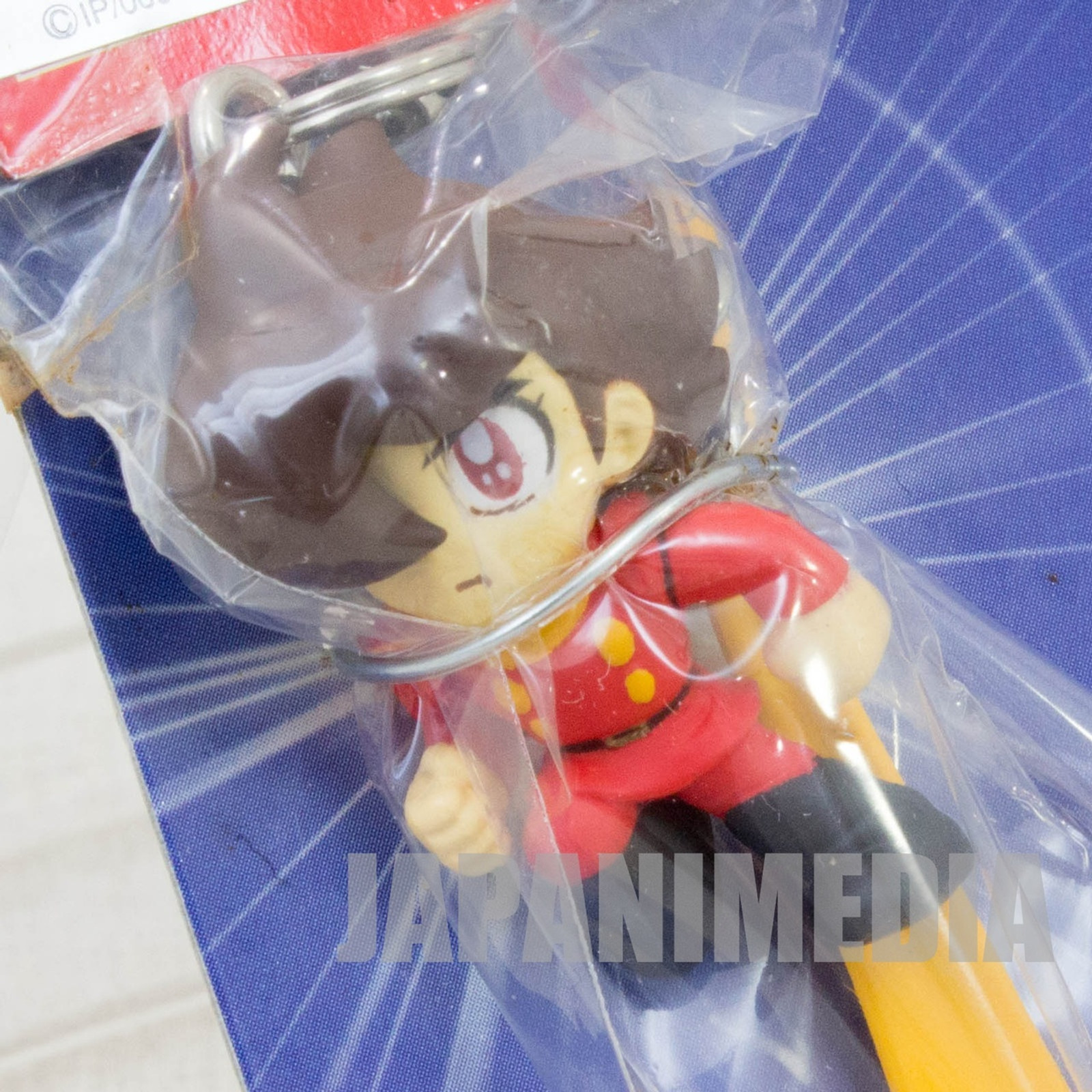 Cyborg 009 Joe Shimamura Scarf Figure Strap Banpresto JAPAN ANIME MANGA