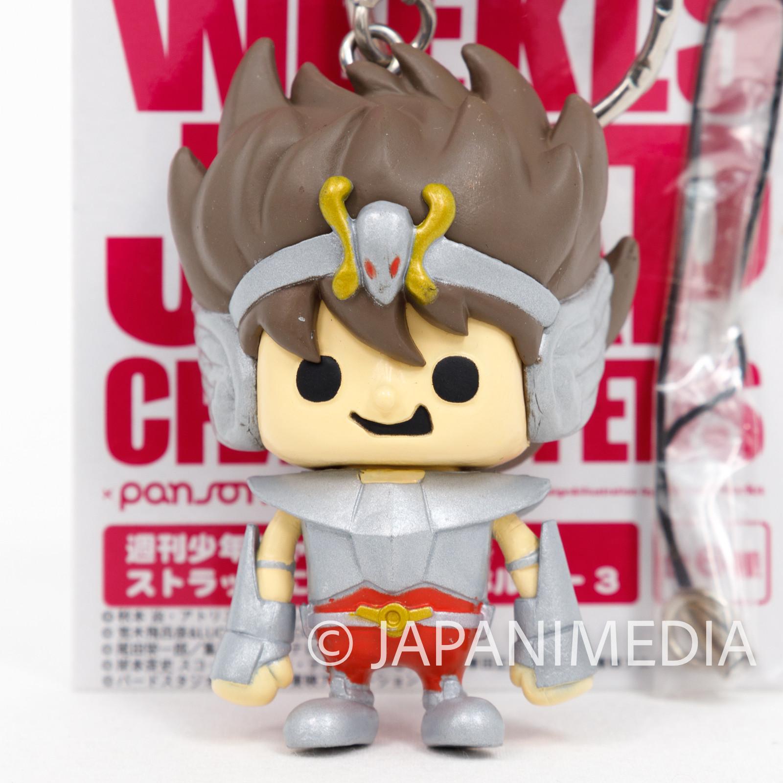 Saint Seiya Pegasus Seiya Panson Works Figure Key Chain JAPAN ANIME MANGA