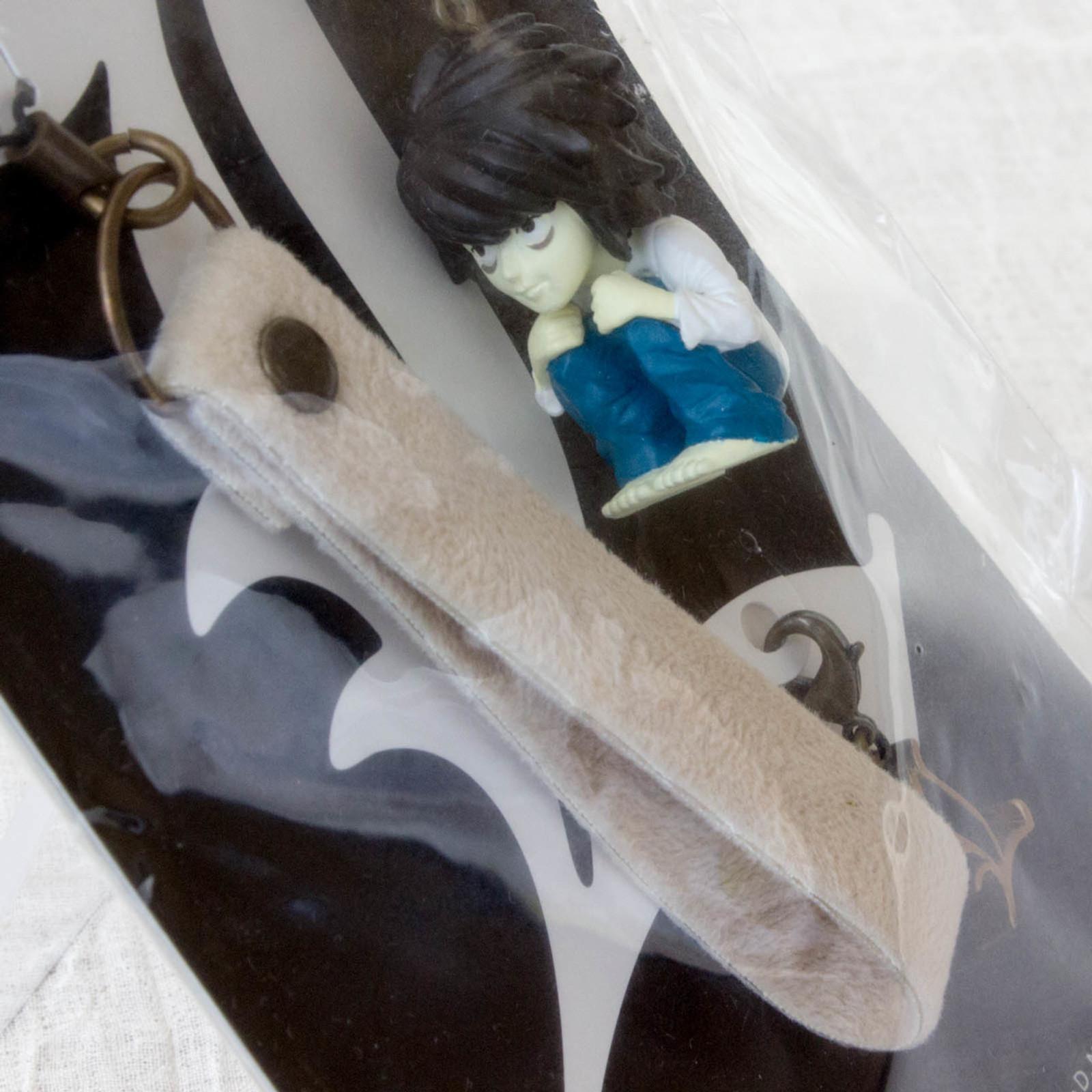 RARE! Death Note L Ryuzaki Figure Strap Shonen Jump JAPAN ANIME MANGA
