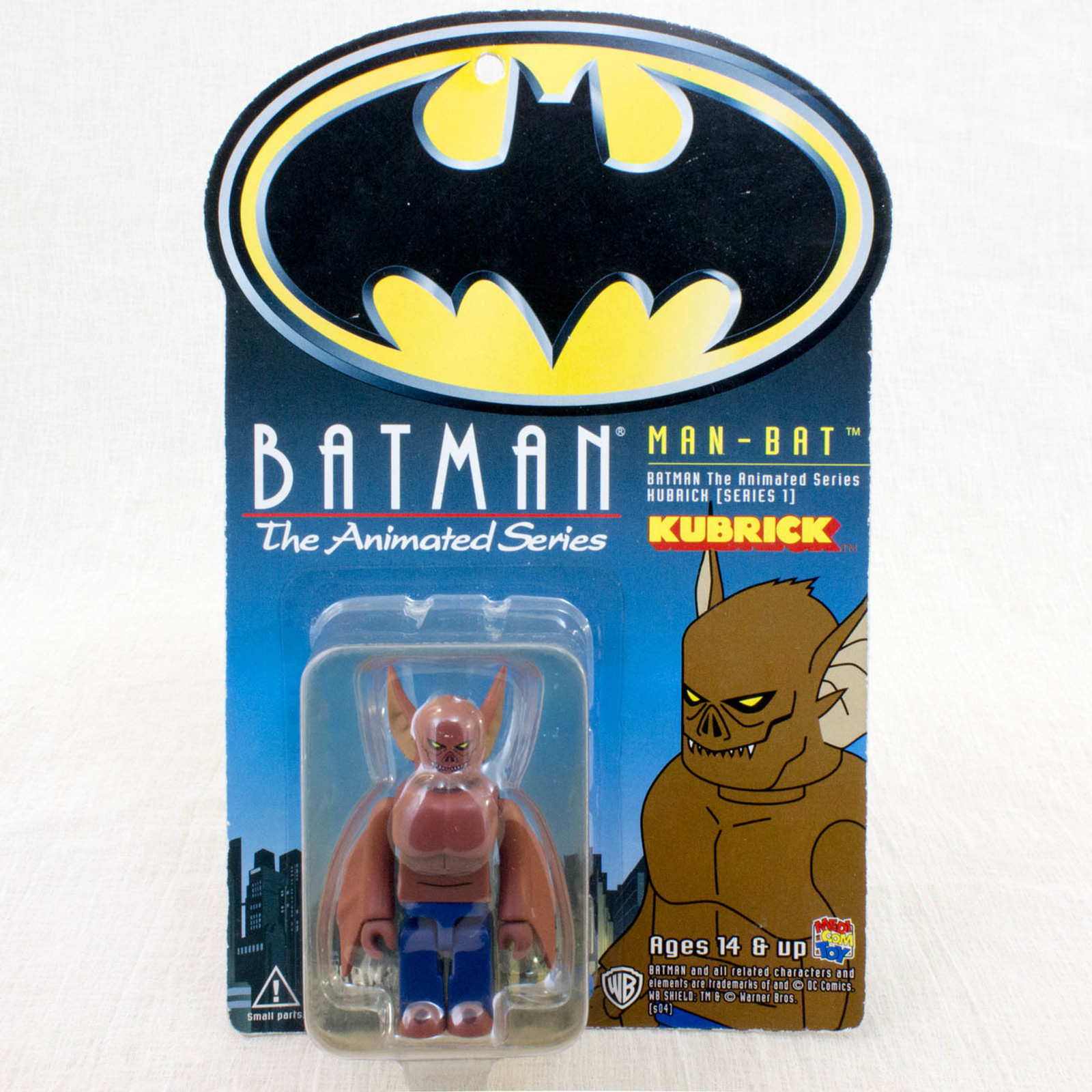 Batman Animated Man-Bat Kubrick Medicom Toy Figure JAPAN