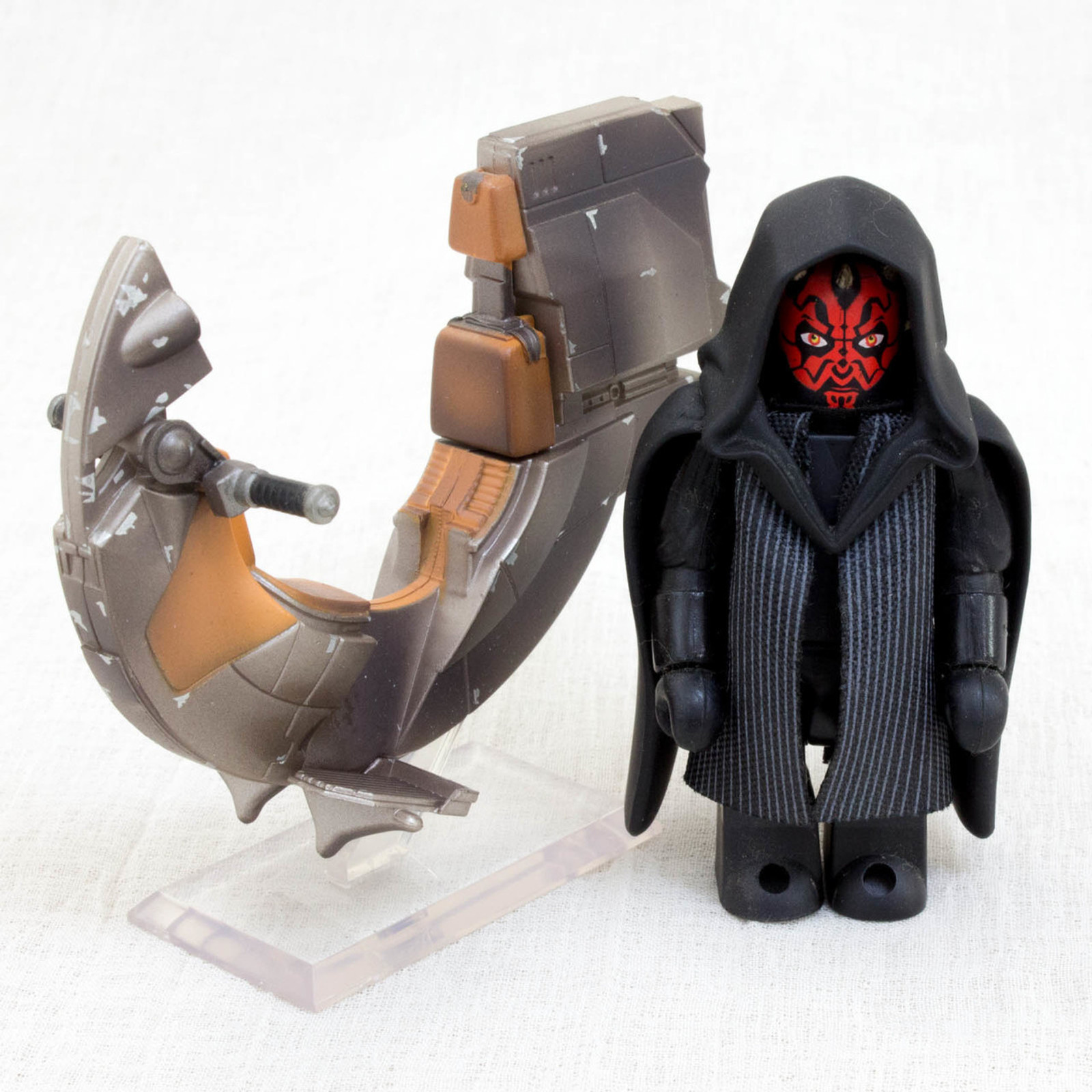 STAR WARS Darth Maul Sith Speeder Figure Set Medicom Toy JAPAN MOVIE