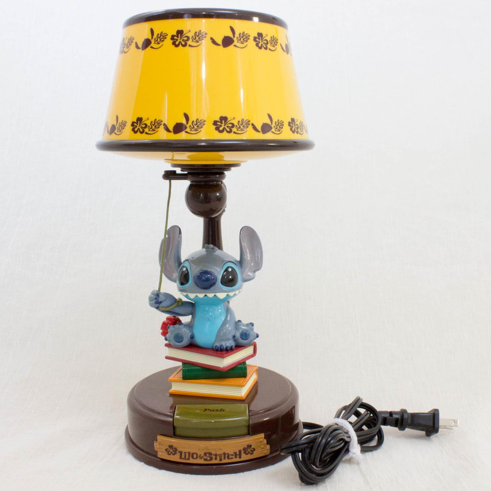 Disney Stitch Desktop Light Stand Action Figure Toy JAPAN ANIME