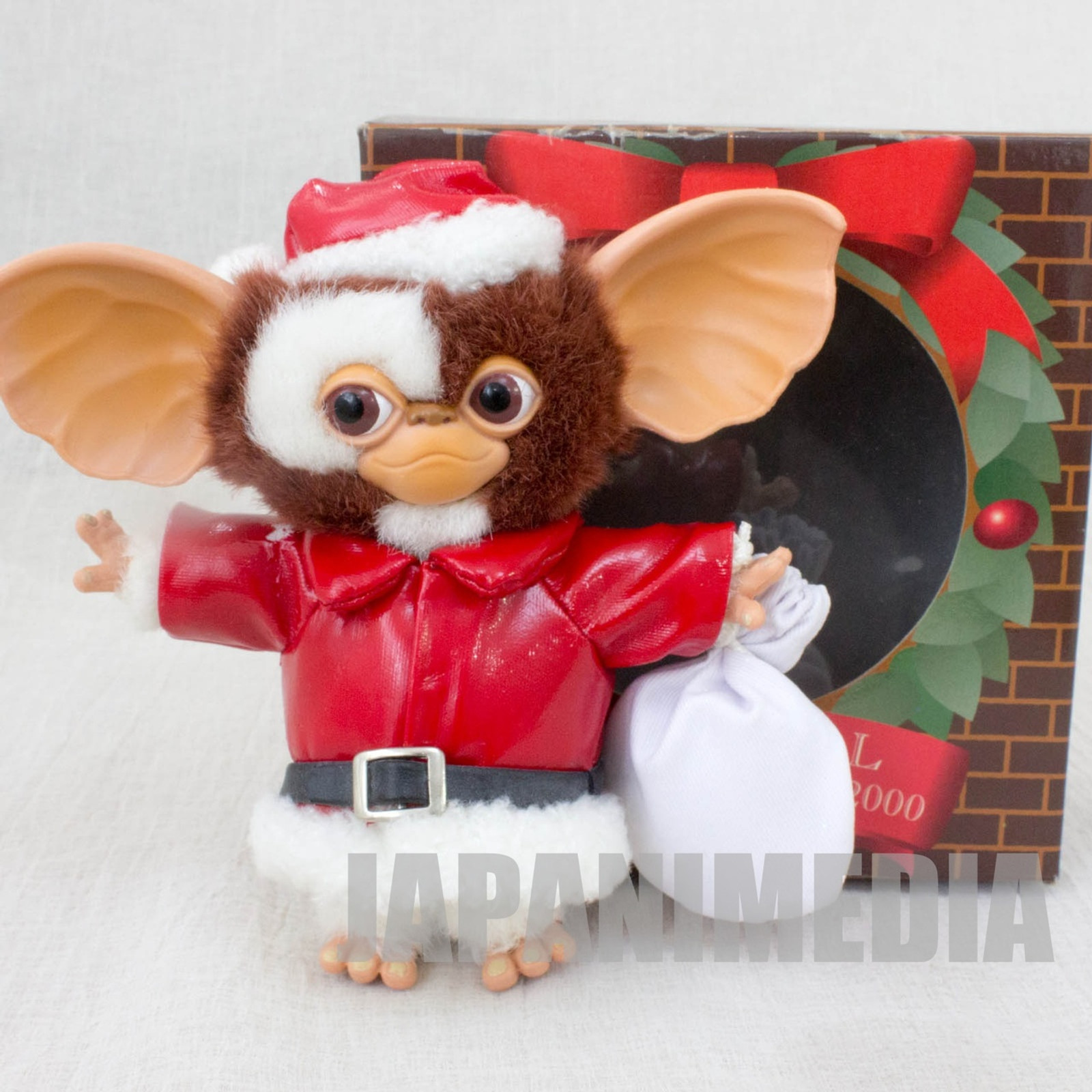[JUNK ITEM/Damaged] Gremlins GIZMO Bendable Petit Doll Figure Santa Chirstmas