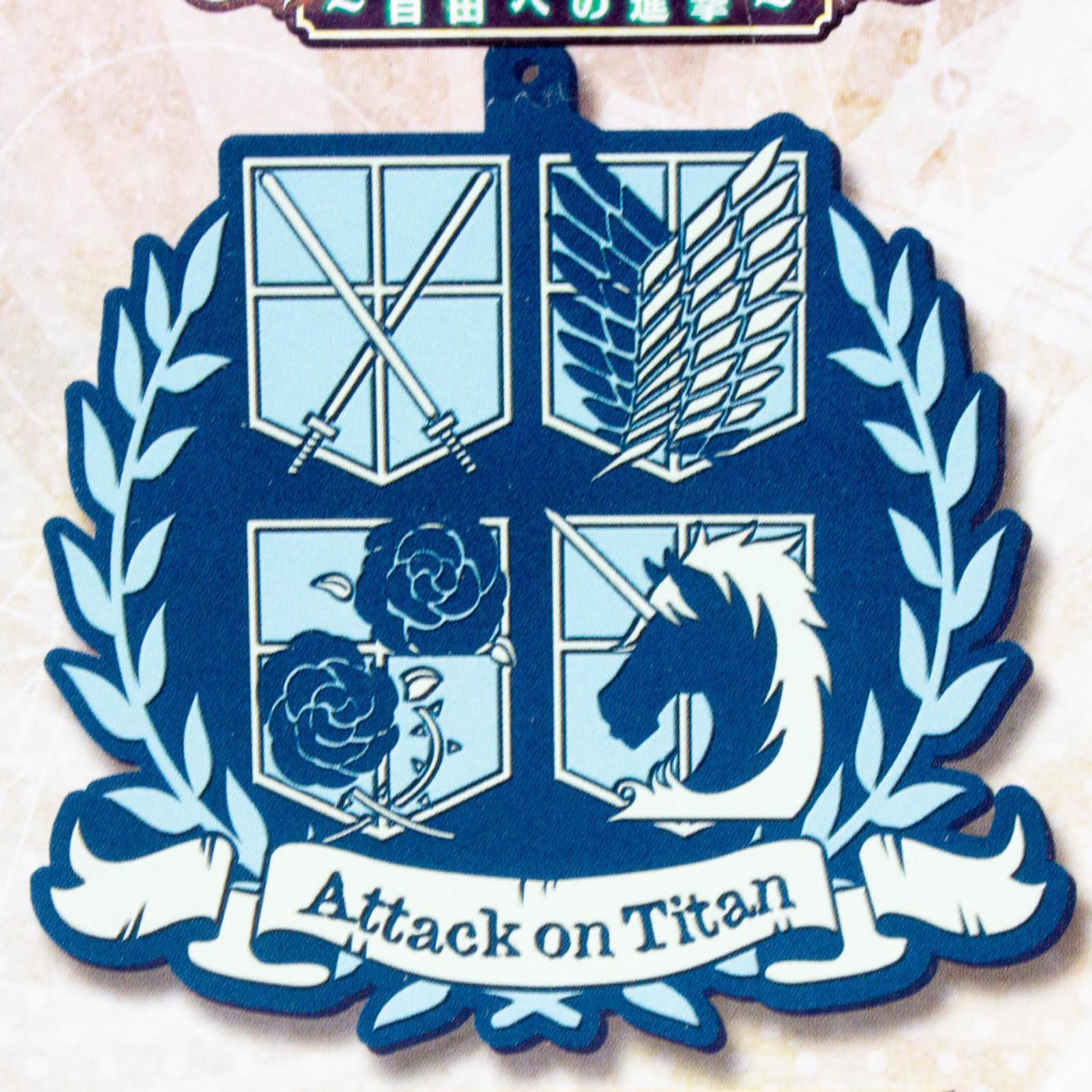 Attack on Titan Rubber Coaster Armband Arm Badge Banpresto JAPAN ANIME MANGA